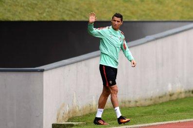 Portugal captain Cristiano Ronaldo.