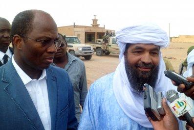 Iyad Ag Ghaly in northern Mali