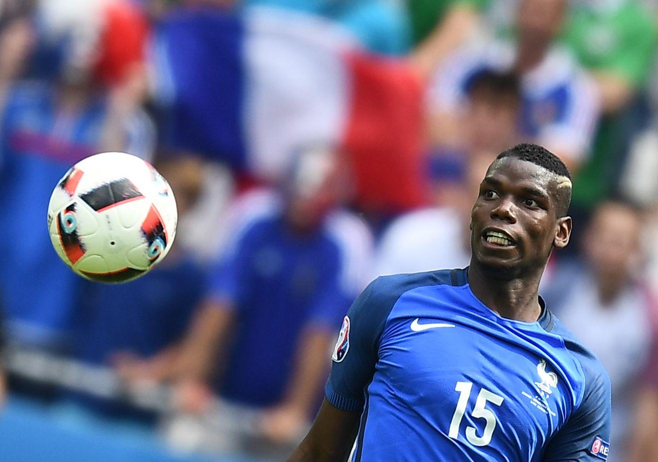 France midfielder Paul Pogba.