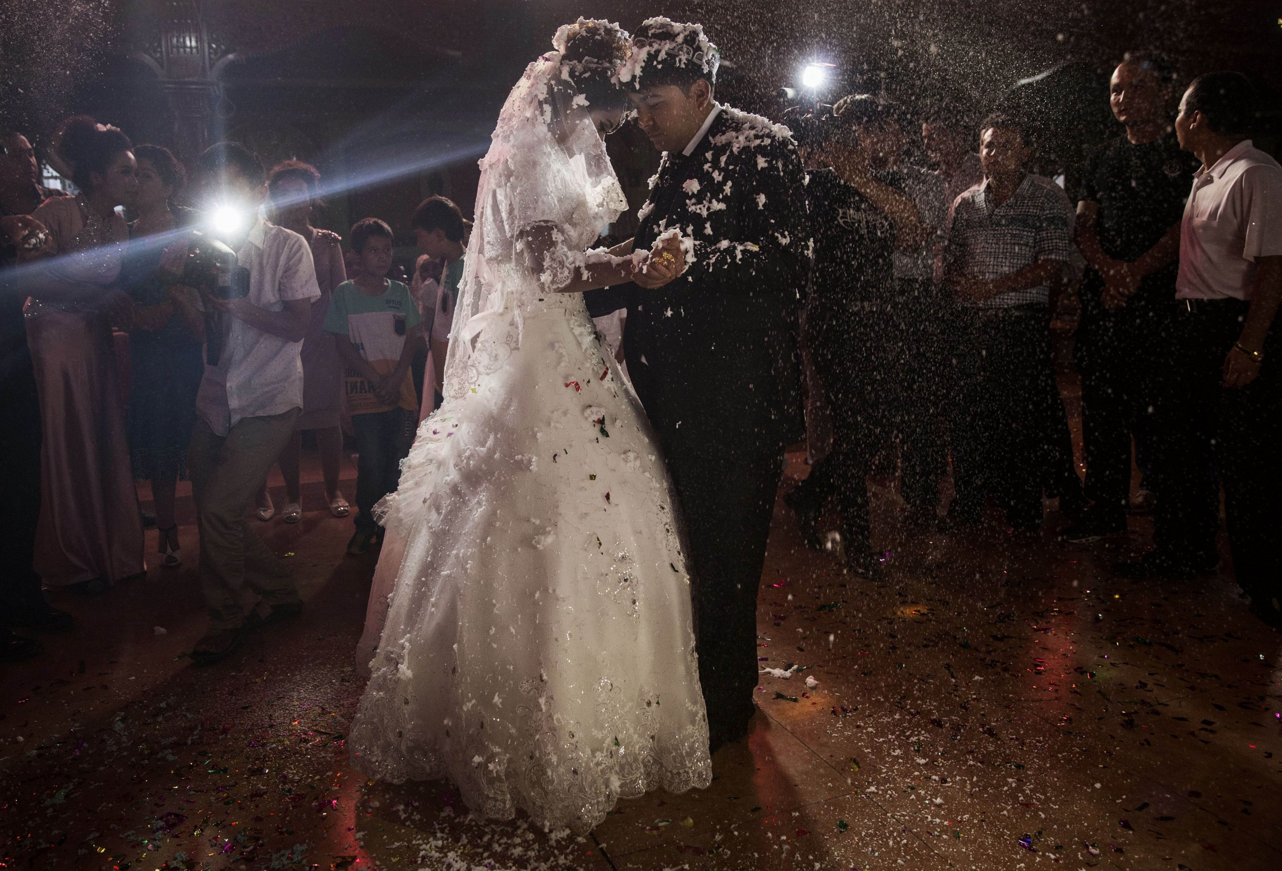 First Dance At Their Wedding Celebration After Being Married In Xinjiang Uyghur China August 2 2014 DJs Have Revealed The Most Popular Songs
