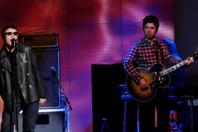 Noel and Liam Gallagher in 2008