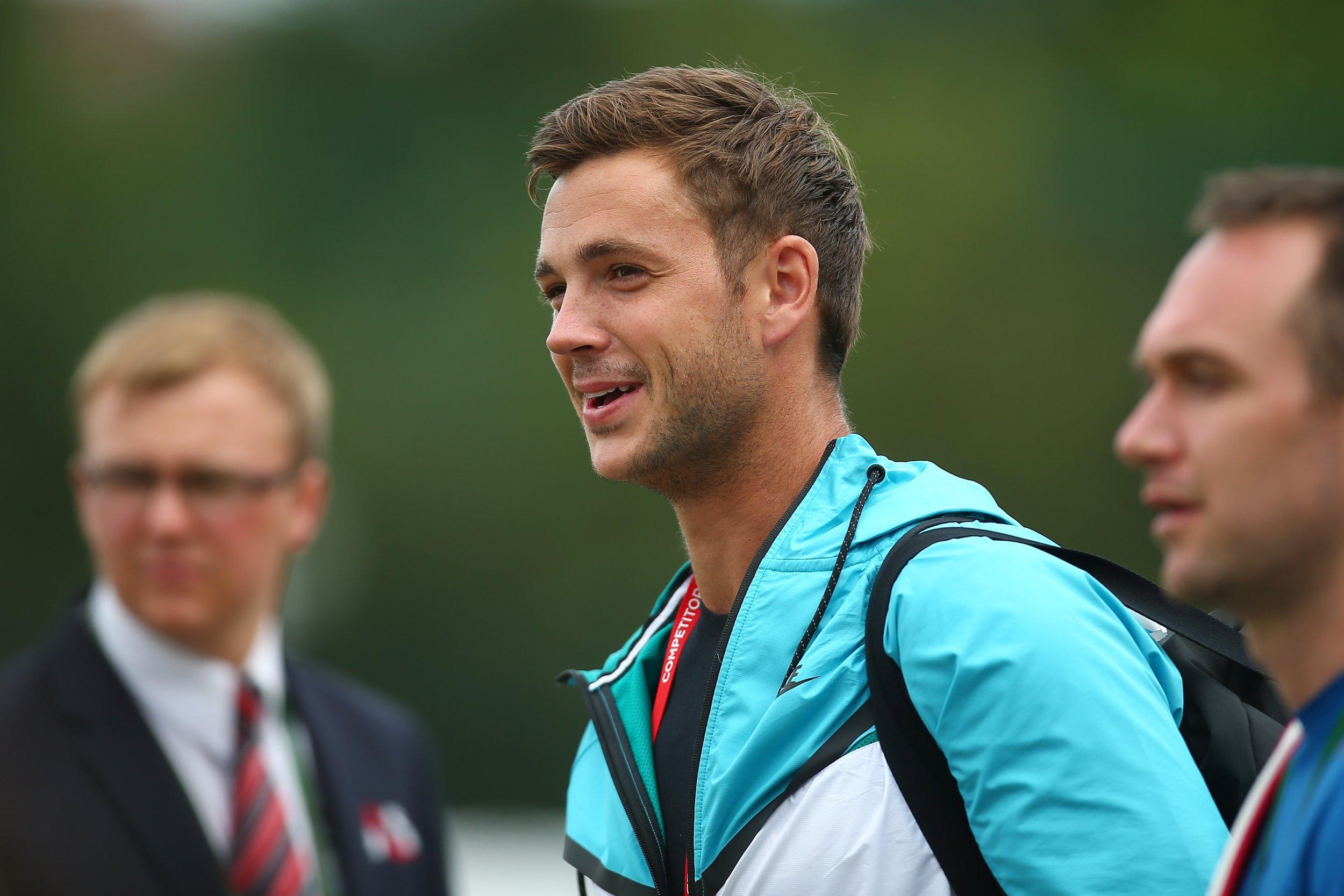 Wimbledon's new star Marcus Willis.