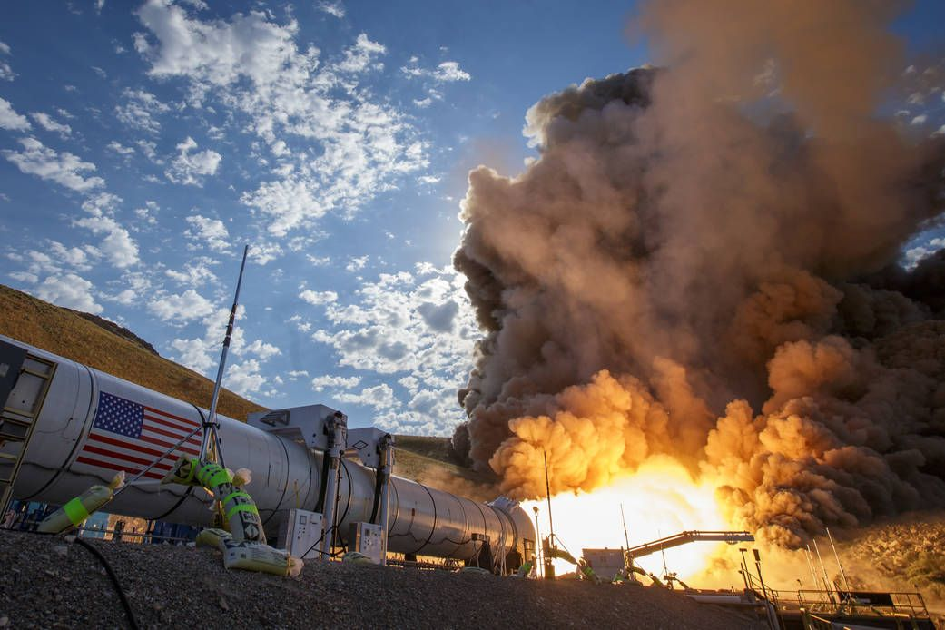 nasa mars rocket test
