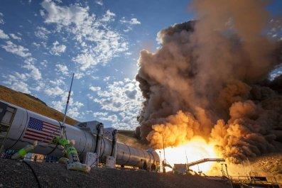 nasa mars rocket test