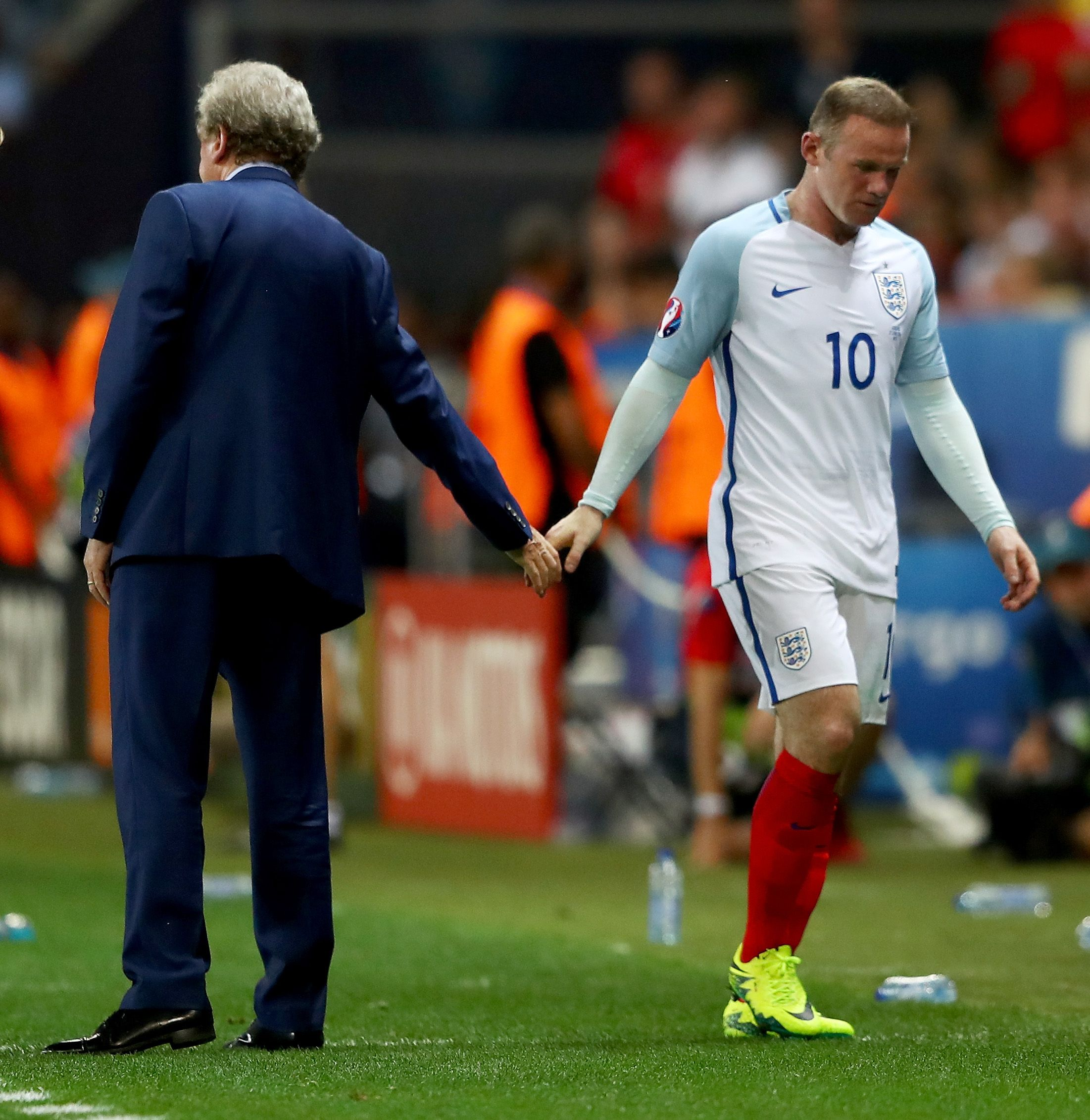 Hodgson and Rooney