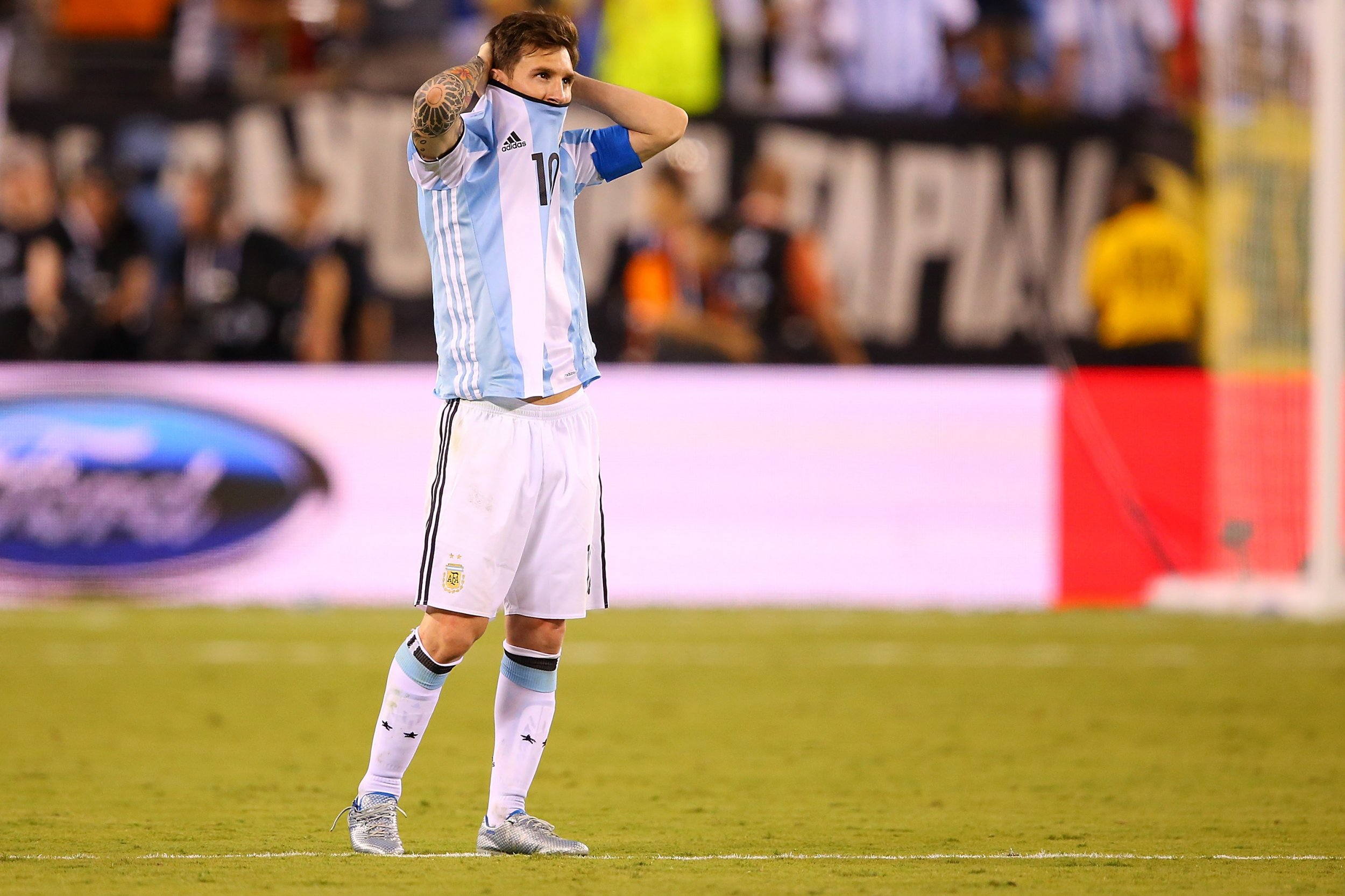5e0fb9bd2 Could Barcelona s Lionel Messi Do A U-turn on Argentina Retirement