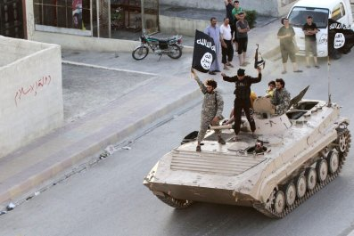 ISIS Rally in Raqqa