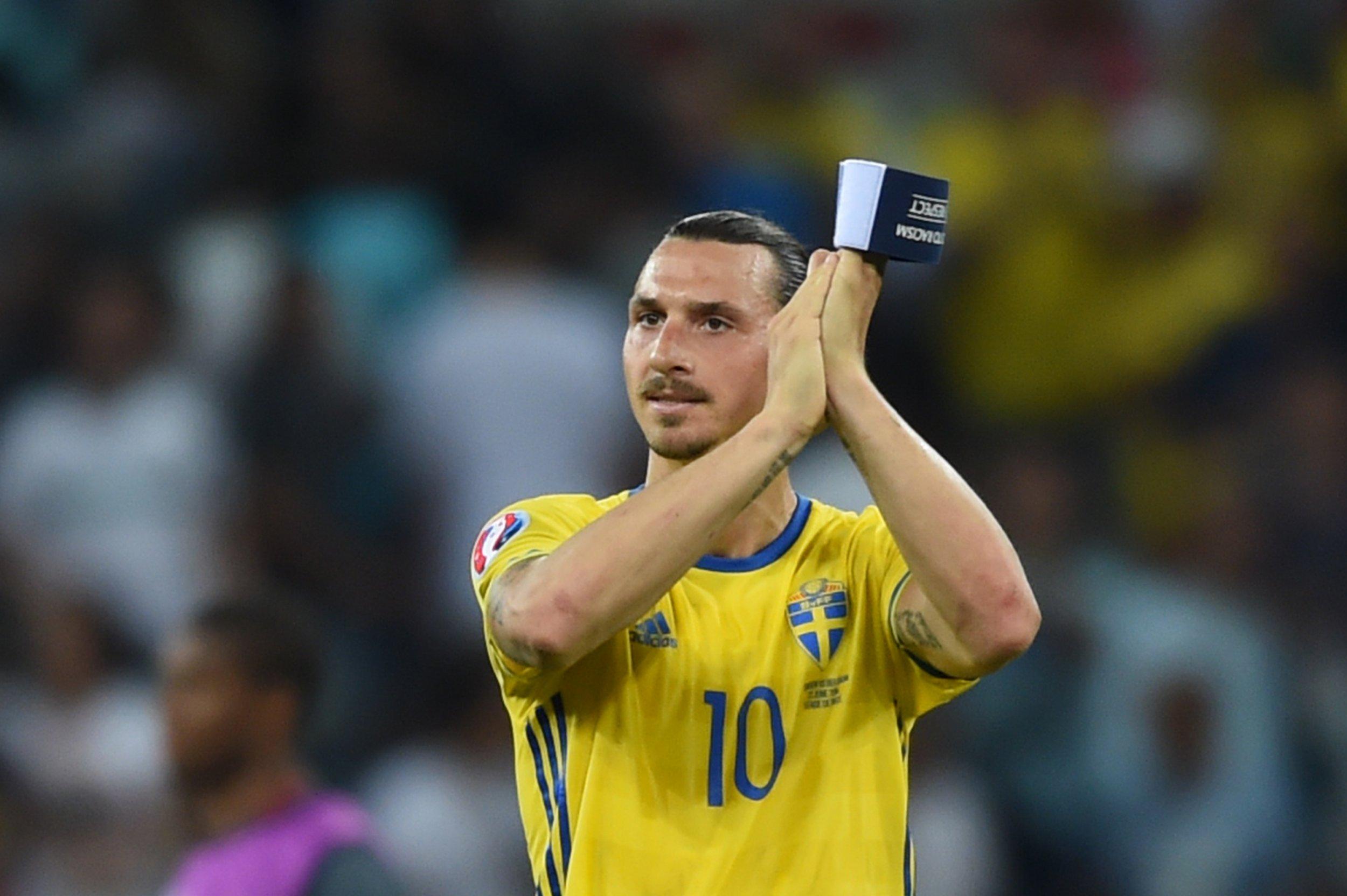 Former Sweden striker Zlatan Ibrahimovic.