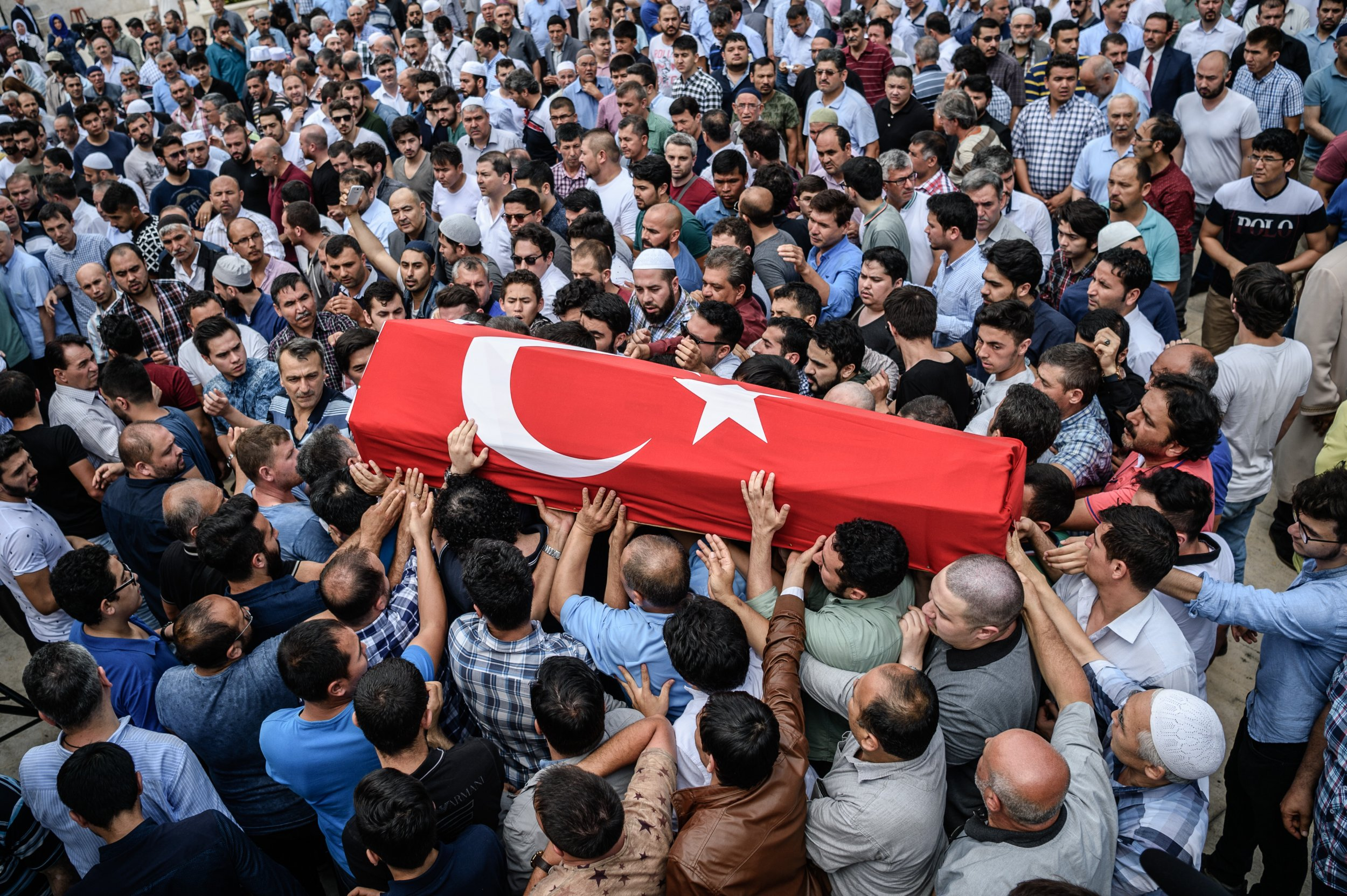 Istanbul Funeral Turkey Attack