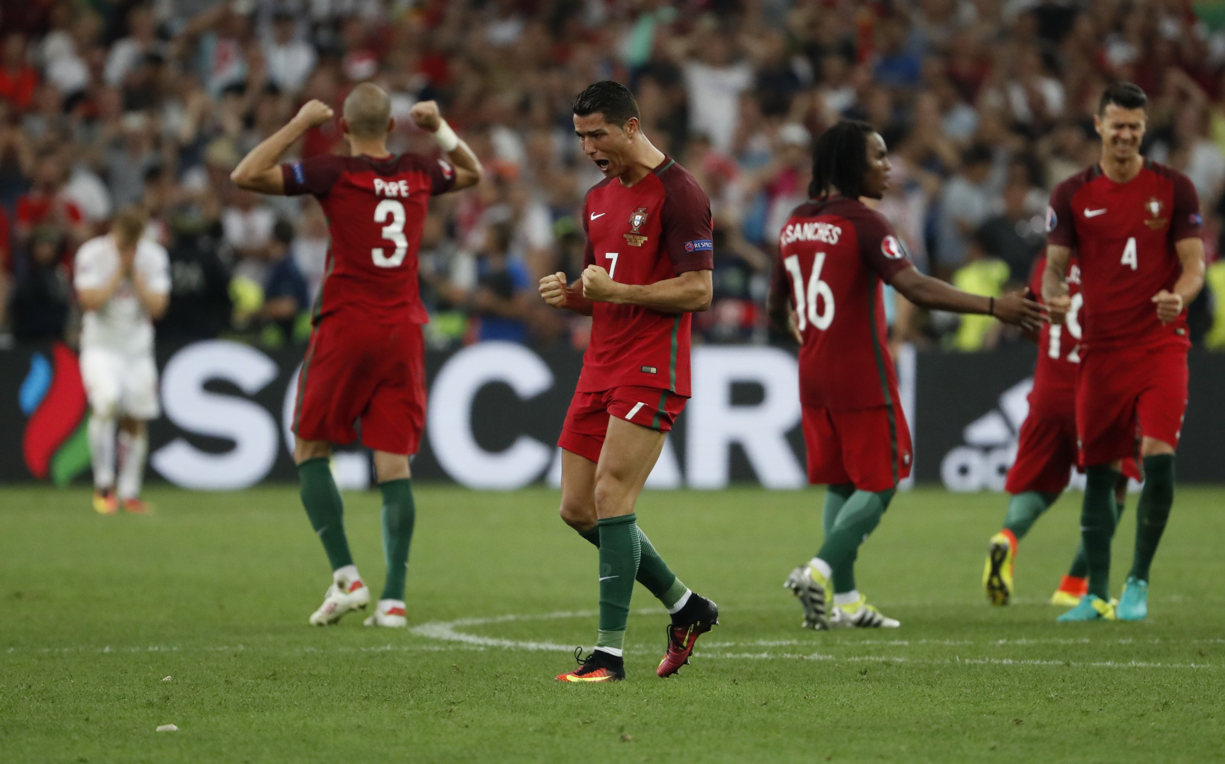Portugal after the Euro 2016 victory against Poland.