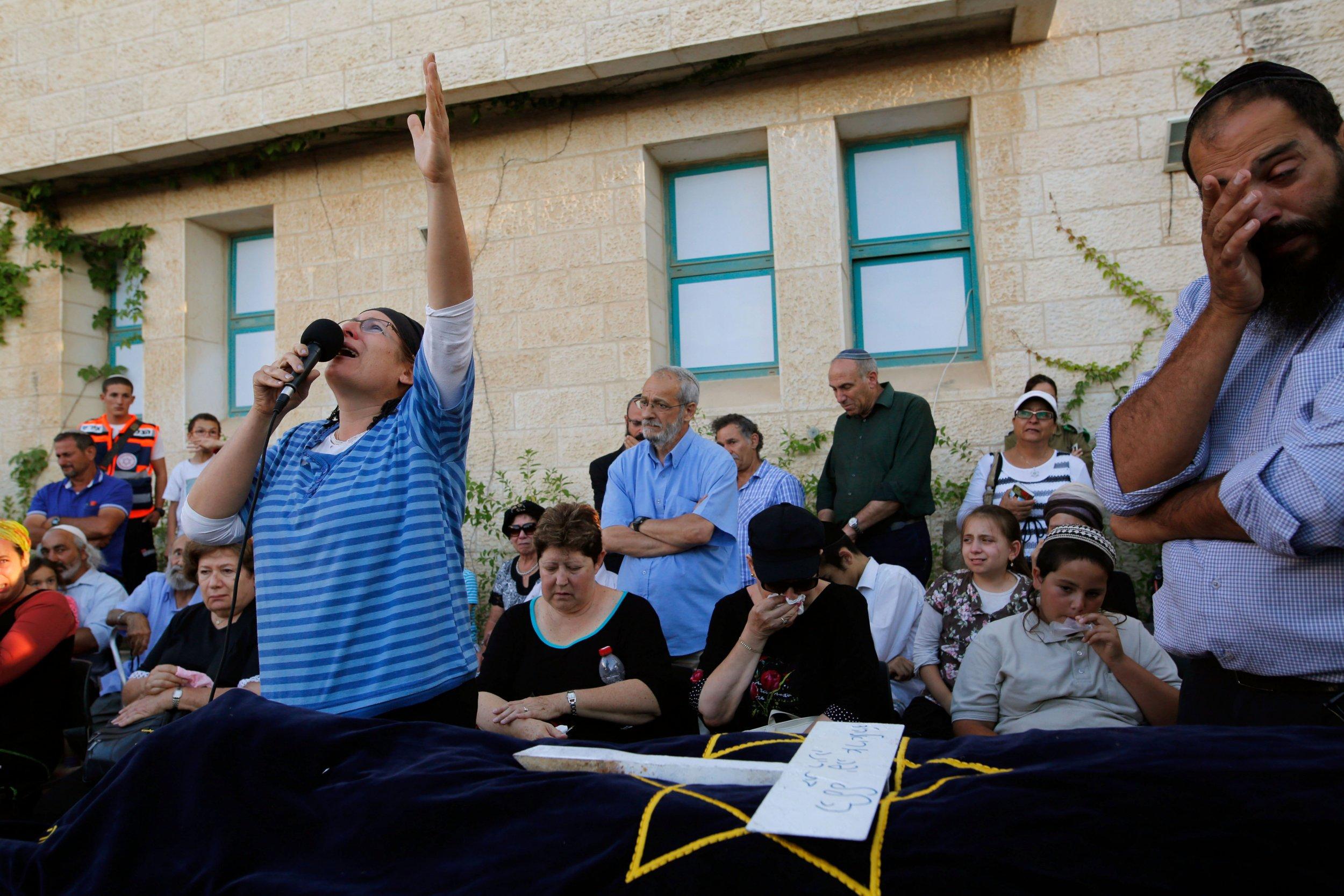 Israel stabbing attack victim's funeral