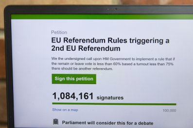 Online petition for second referendum