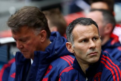 Ryan Giggs, right, has reportedly left Manchester United.