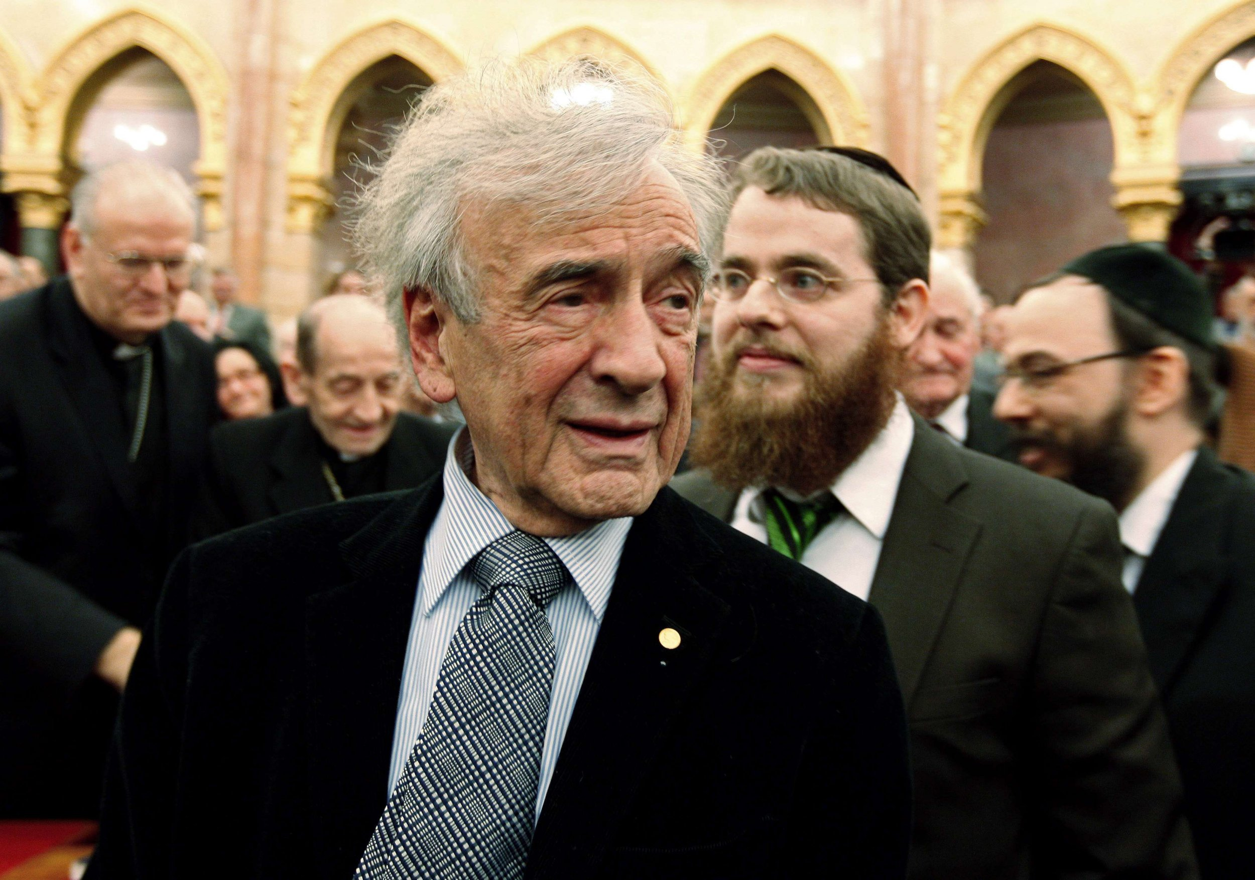 """an analysis of elie wiesels nobel peace prize acceptance speech Elie wiesel's timely nobel peace prize acceptance speech on human rights and our shared duty in ending injustice """"we must always take sides neutrality helps the oppressor, never the victim."""