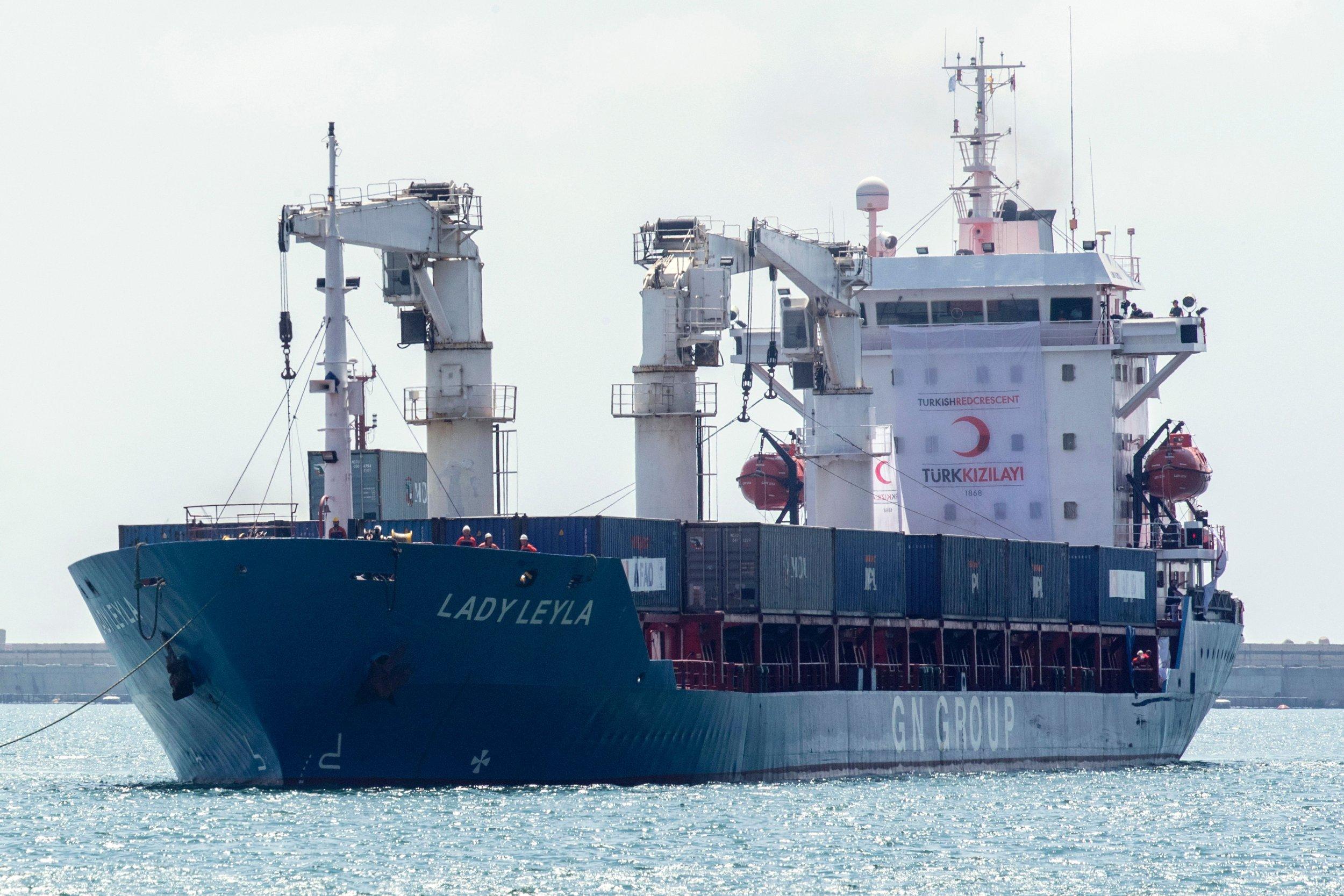 Turkish aid ship to Gaza