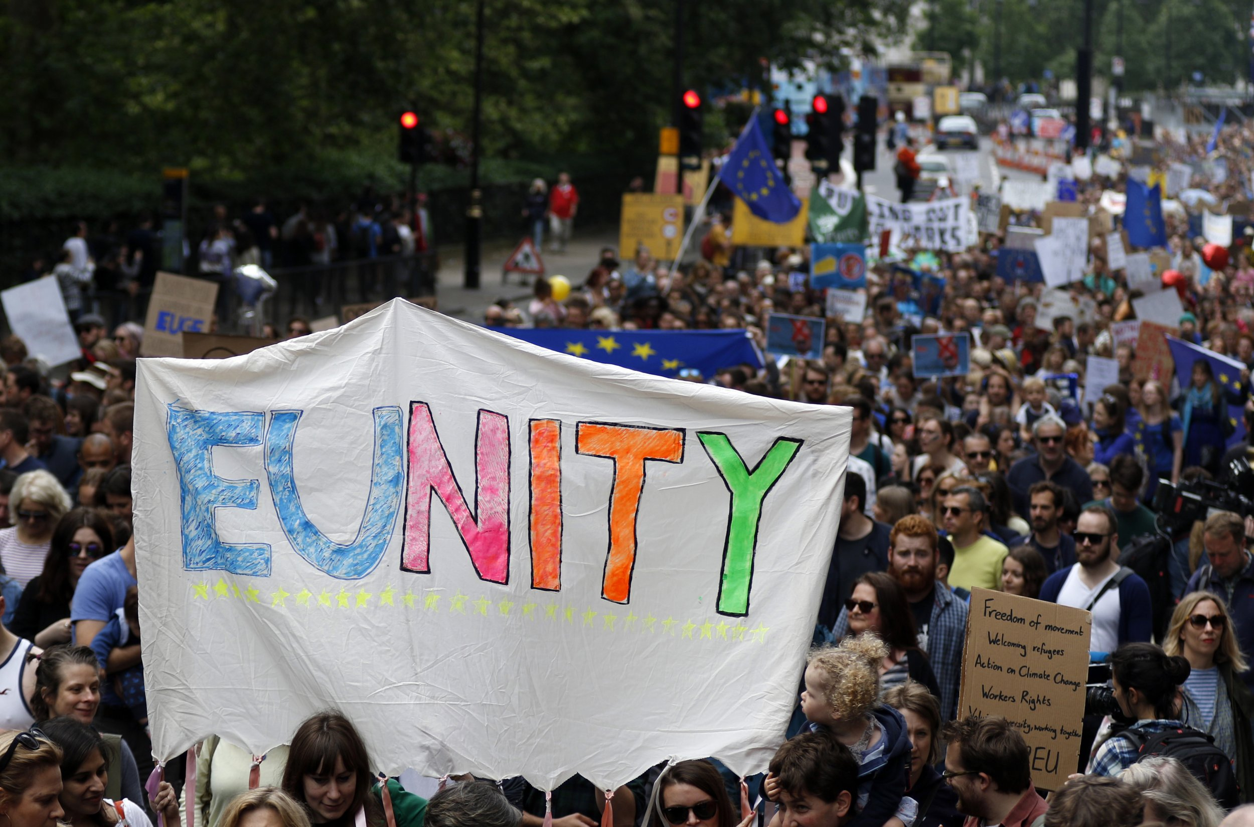'March for Europe' demonstration