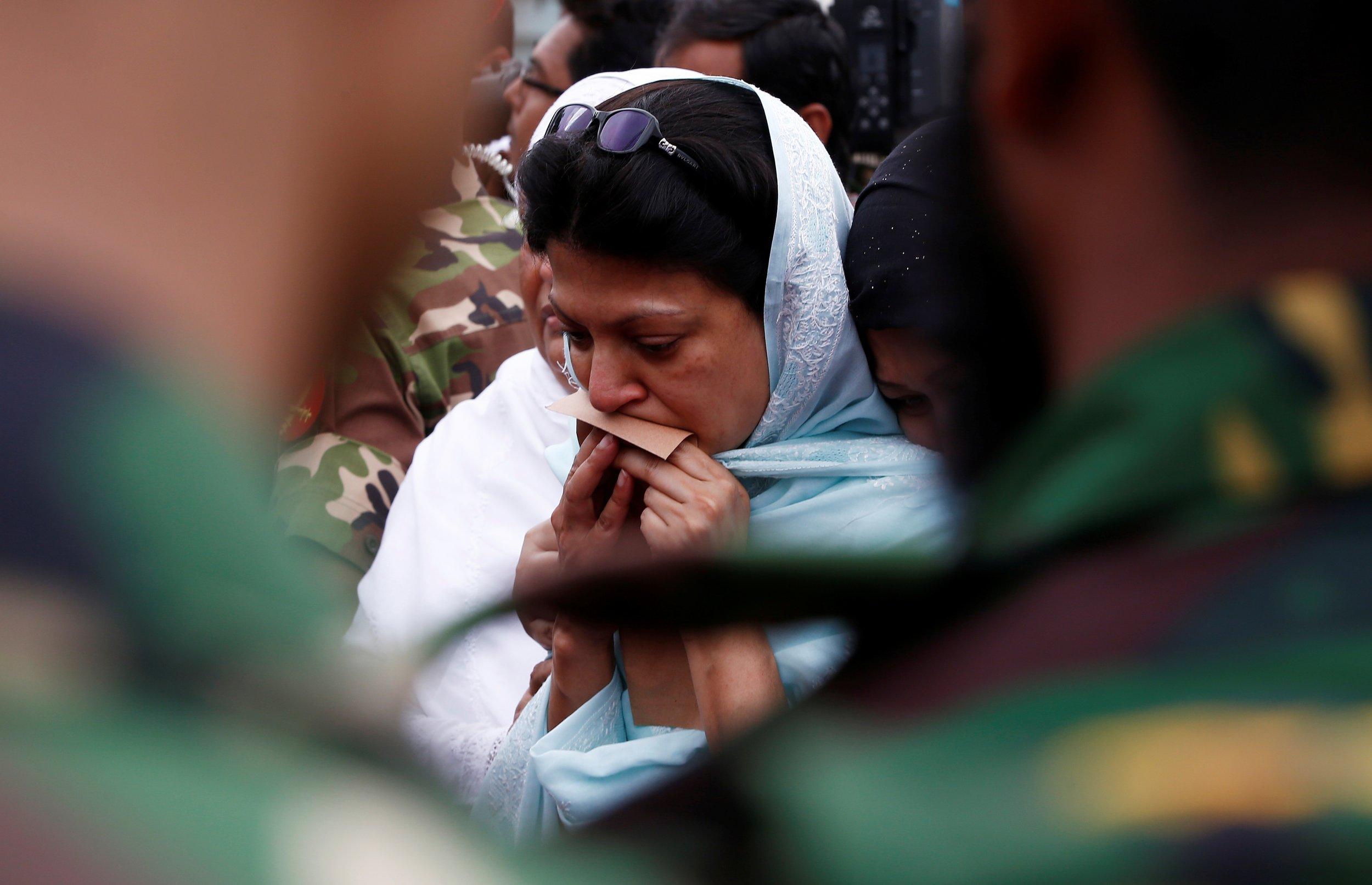 Grief in Dhaka, Bangladesh
