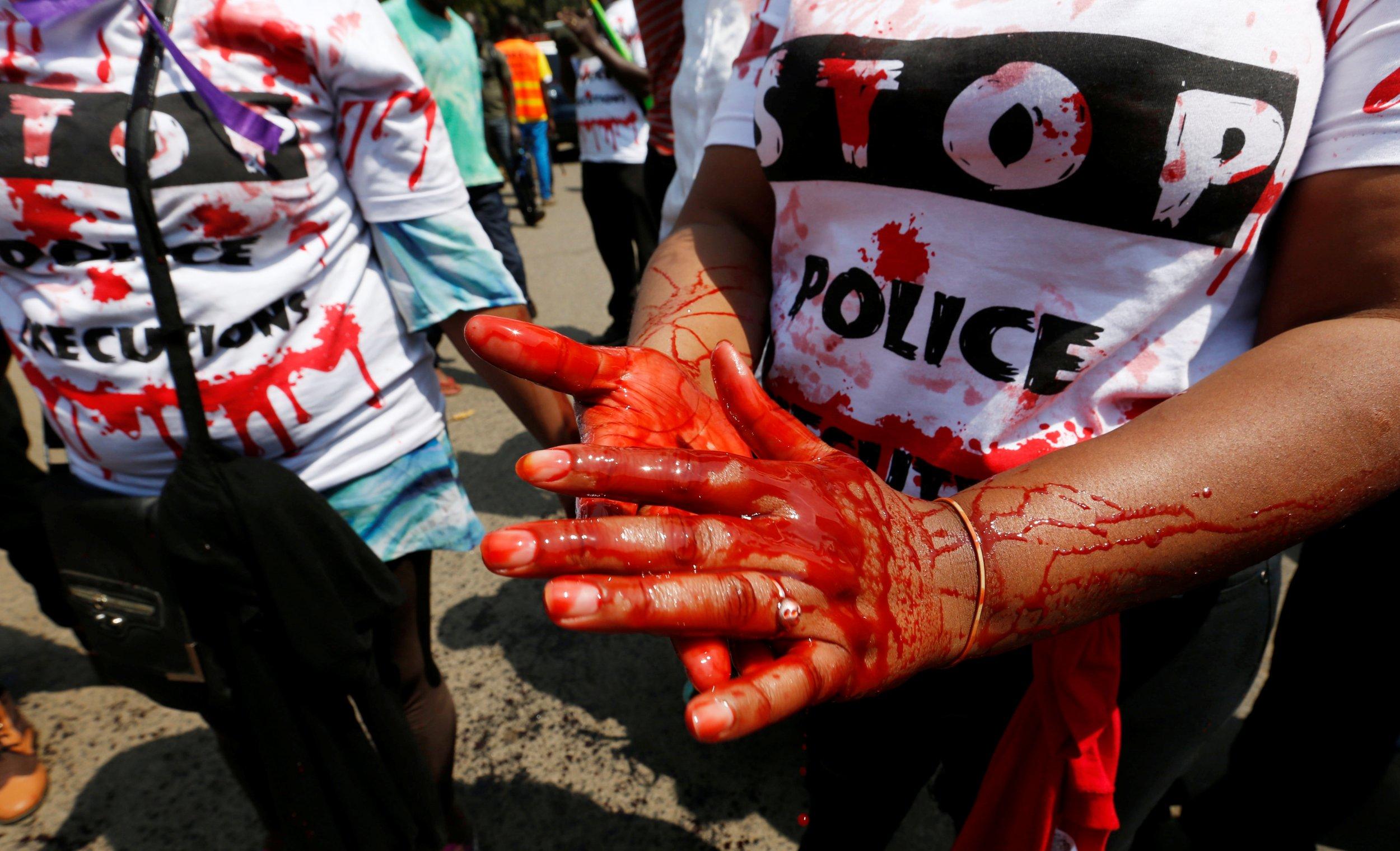 Willie Kimani protests