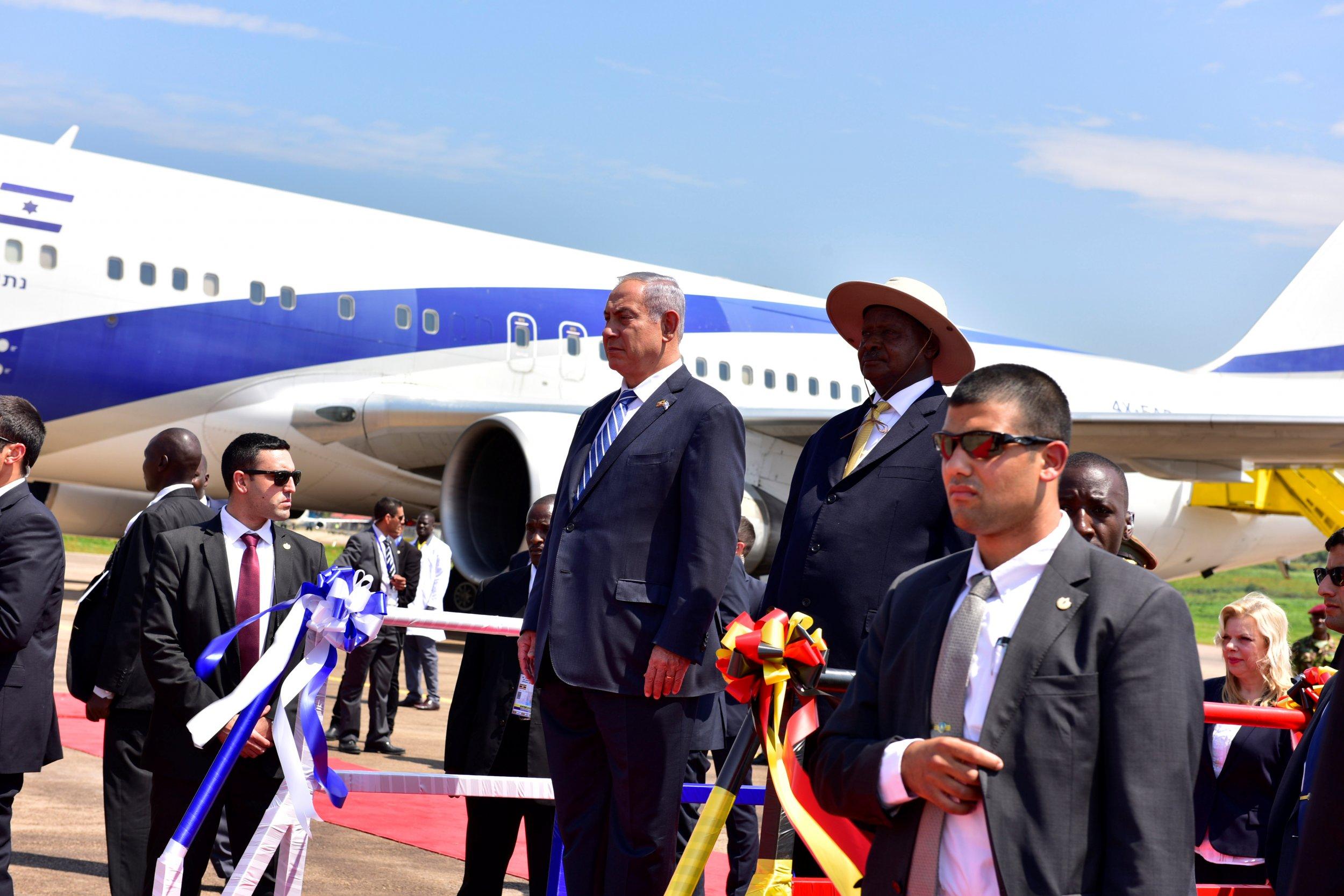 Netanyahu and Museveni