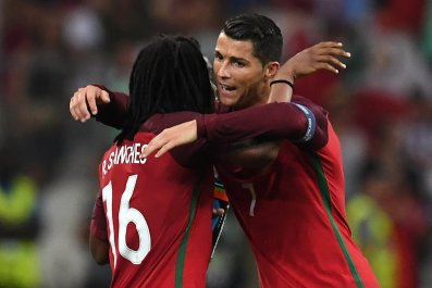 Sanches and Ronaldo