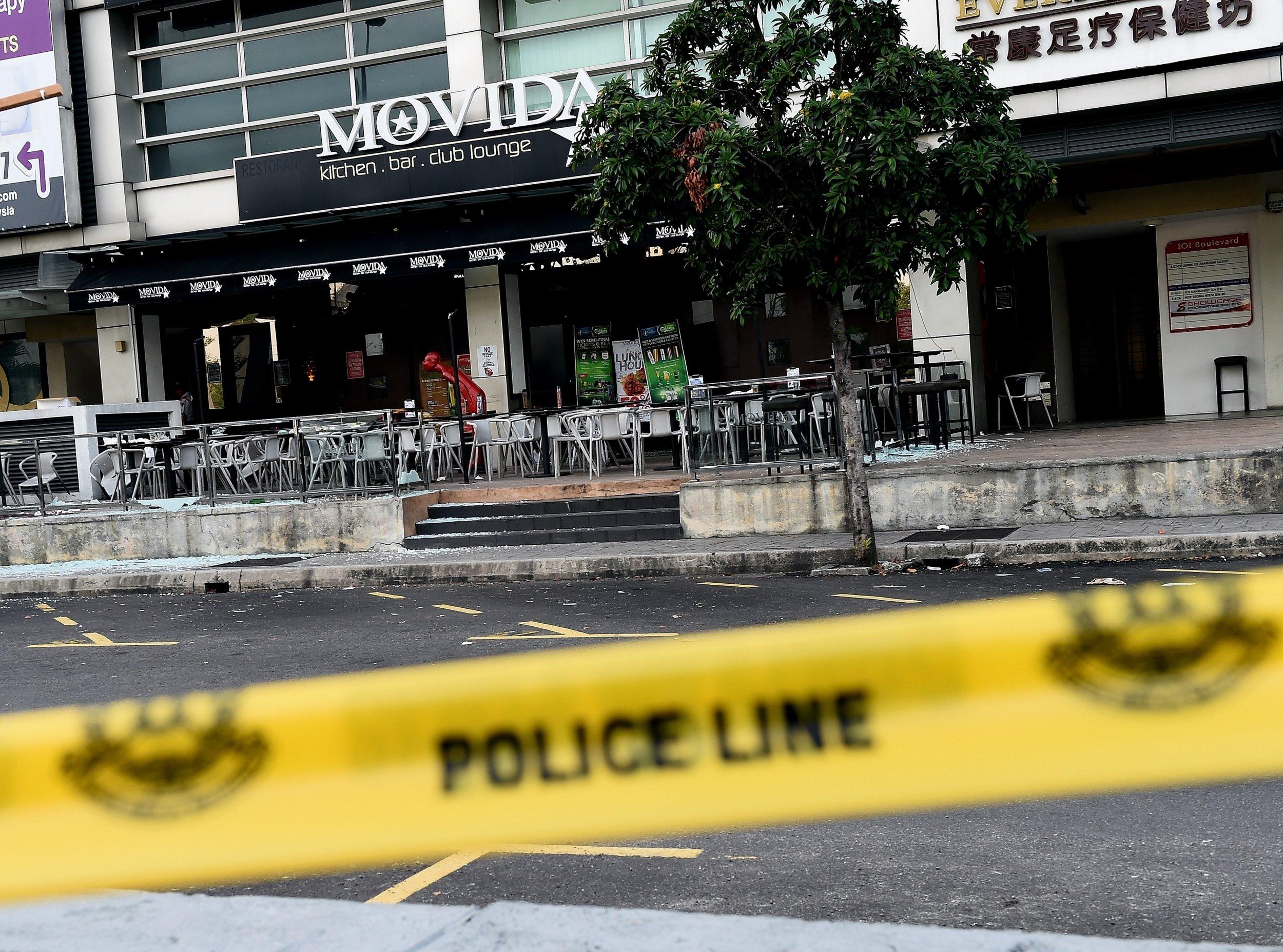 Malaysia grenade attack