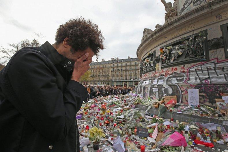 Paris attacks memorial