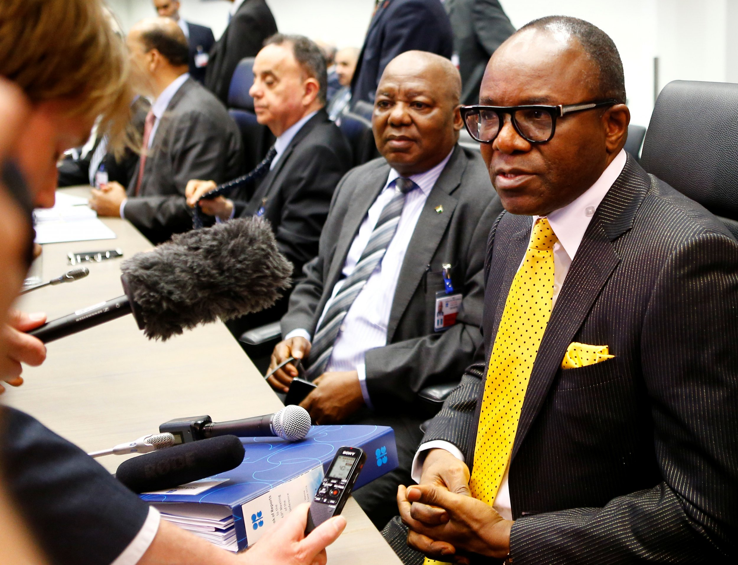 Nigerian oil minister Emmanuel Ibe Kachikwu
