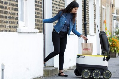 starship technologies robot deliveries just eat