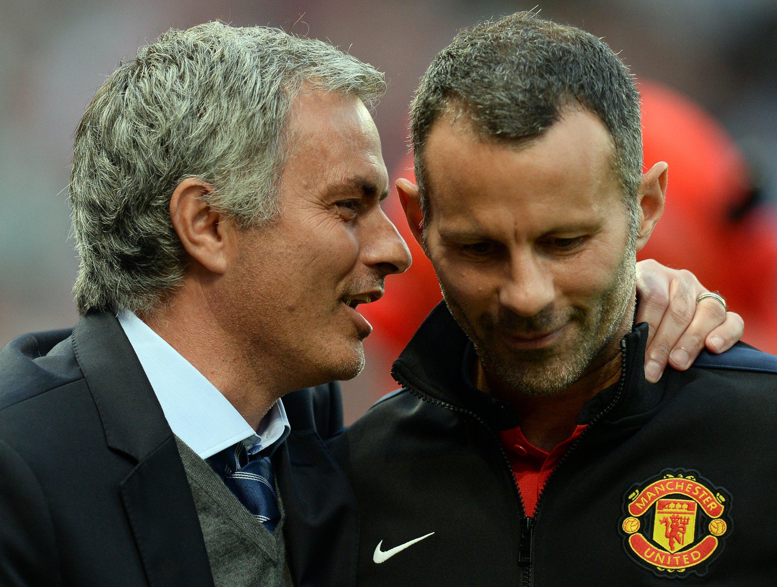 Mourinho and Giggs