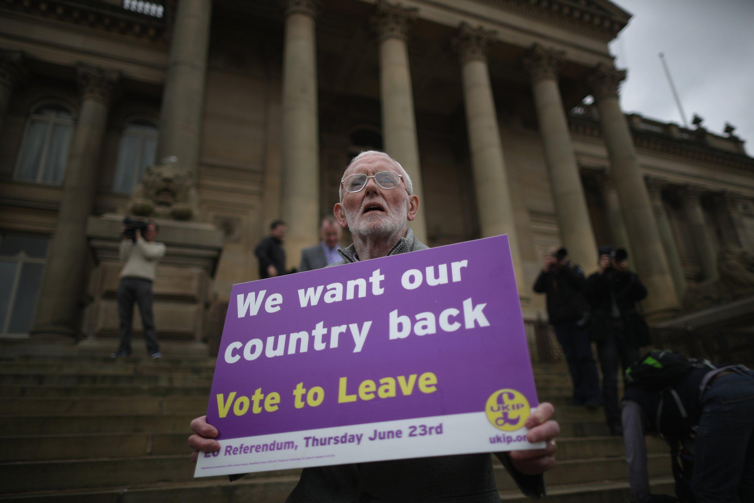 Leave EU campaigner