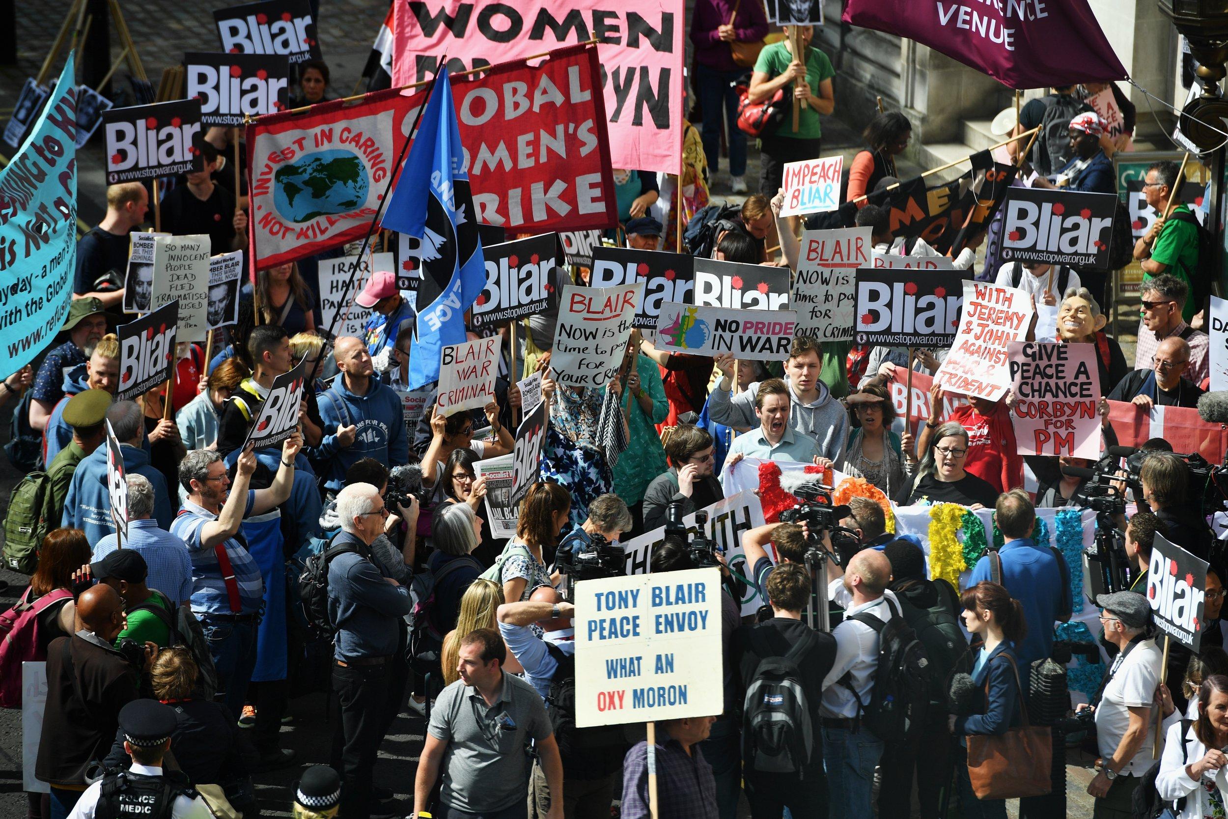Iraq War Protestors