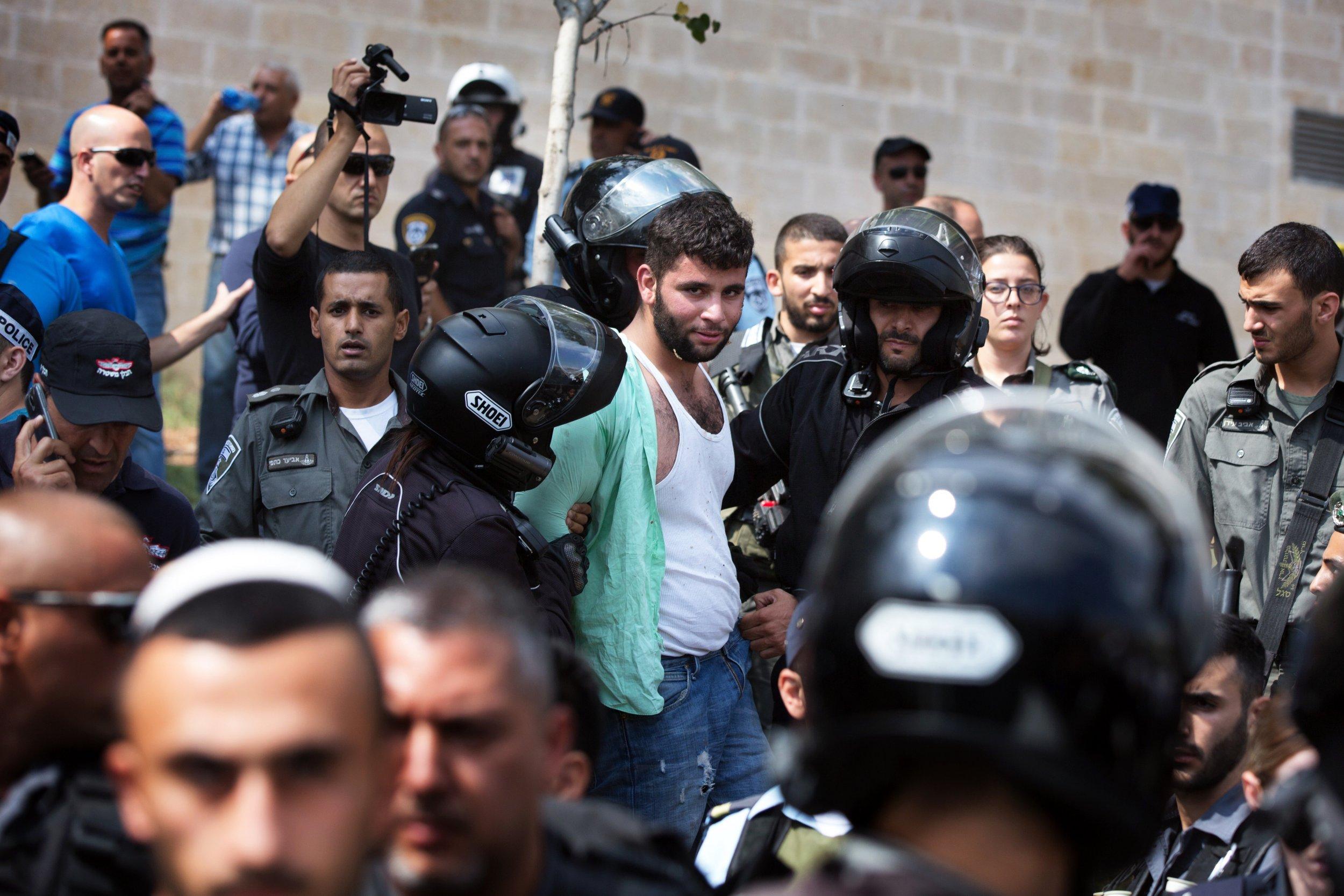 Israel Palestinian Stabbing Middle East