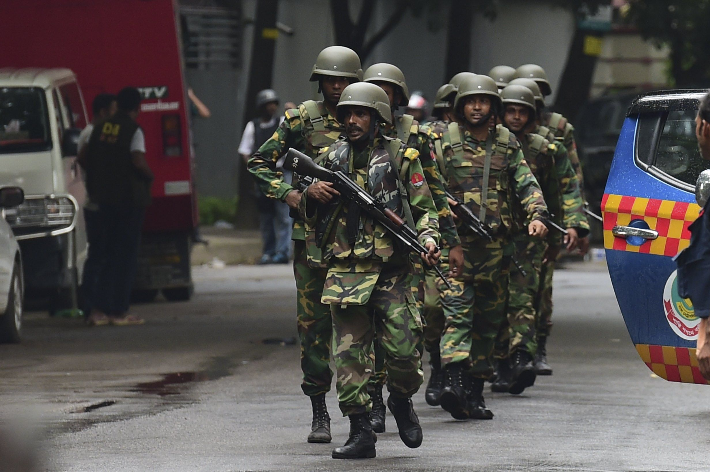 Bangladesh Raid Dhaka Attack