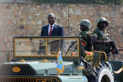 Burundian President Nkurunziza