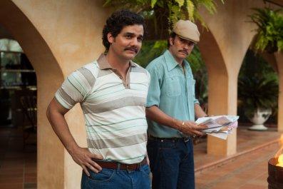 Narcos - Wagner Moura as Pablo Escobar