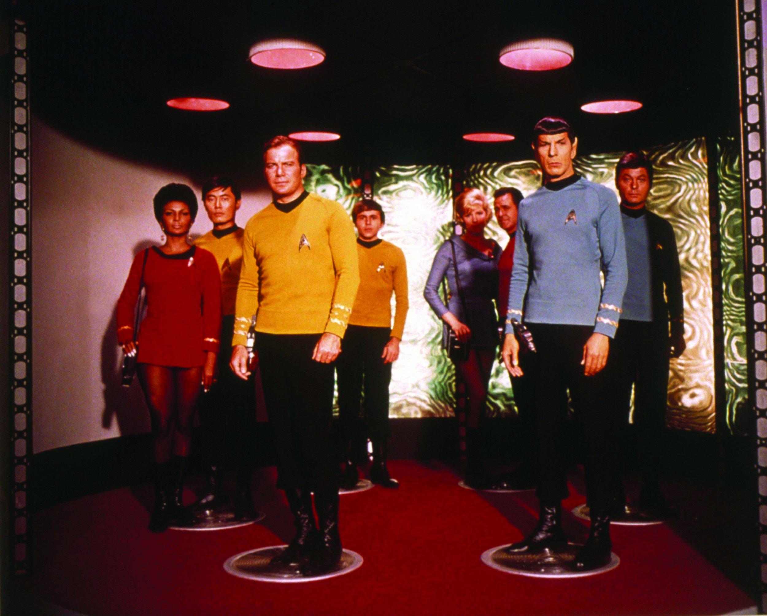 Leonard Nimoy Spock Original to Enterprise...