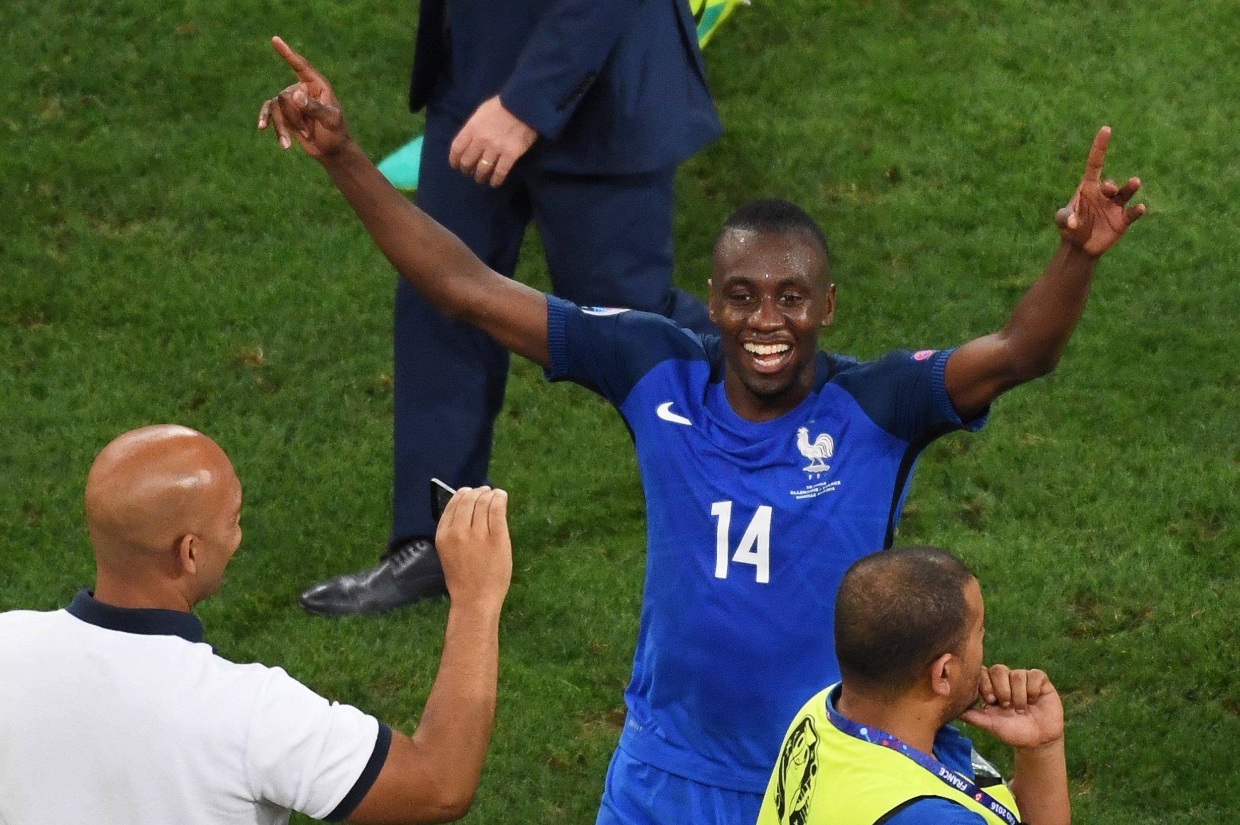 France midfielder Blaise Matuidi