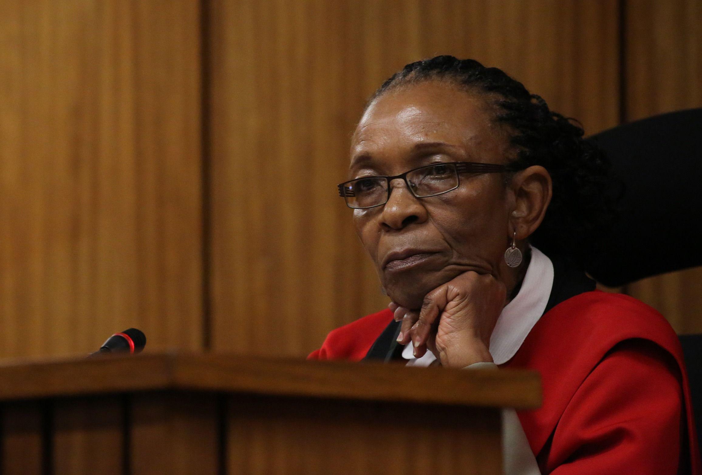 Judge Thokozile Masipa in Oscar Pistorius resentencing