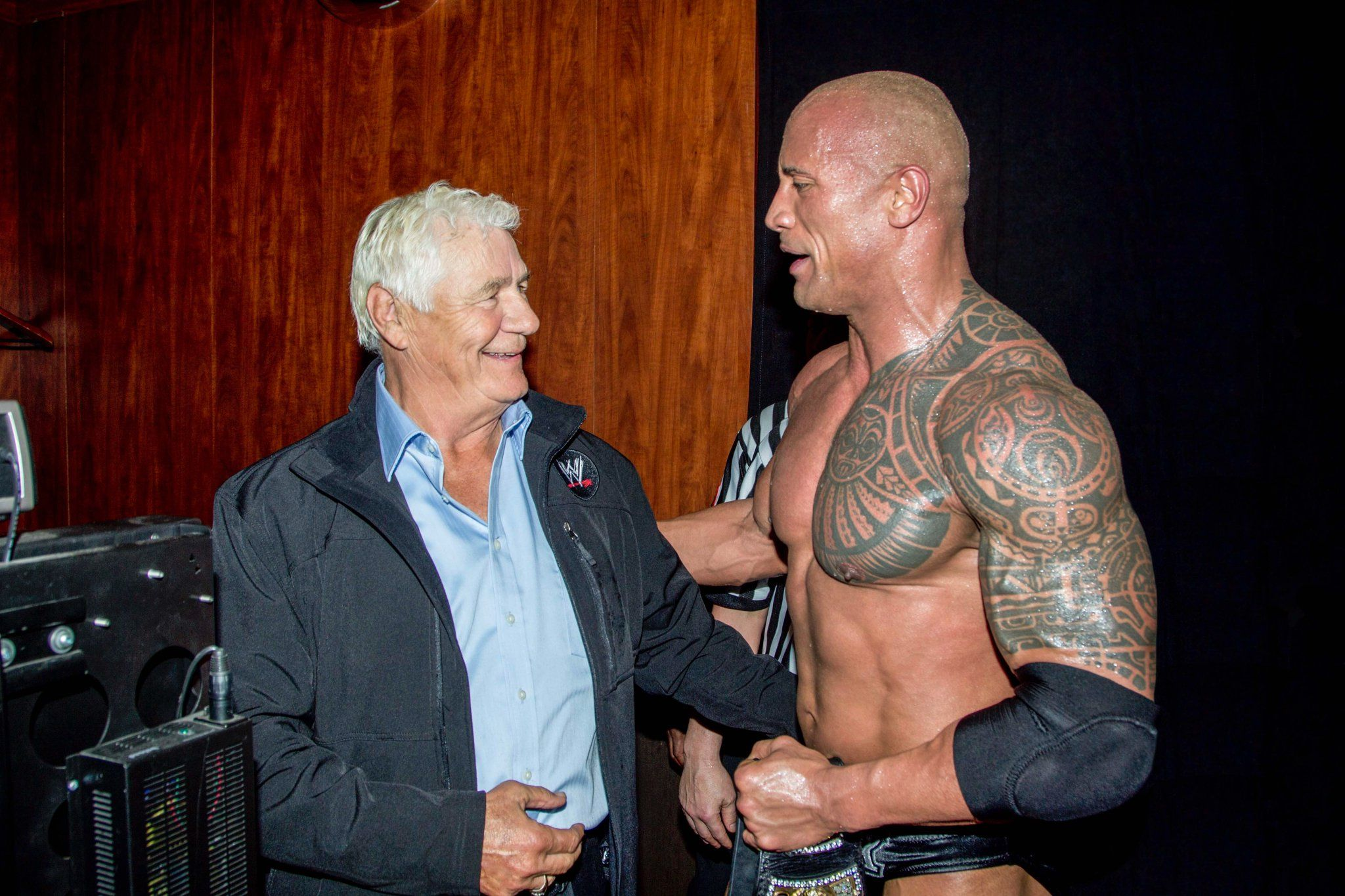 Pat Patterson and The Rock