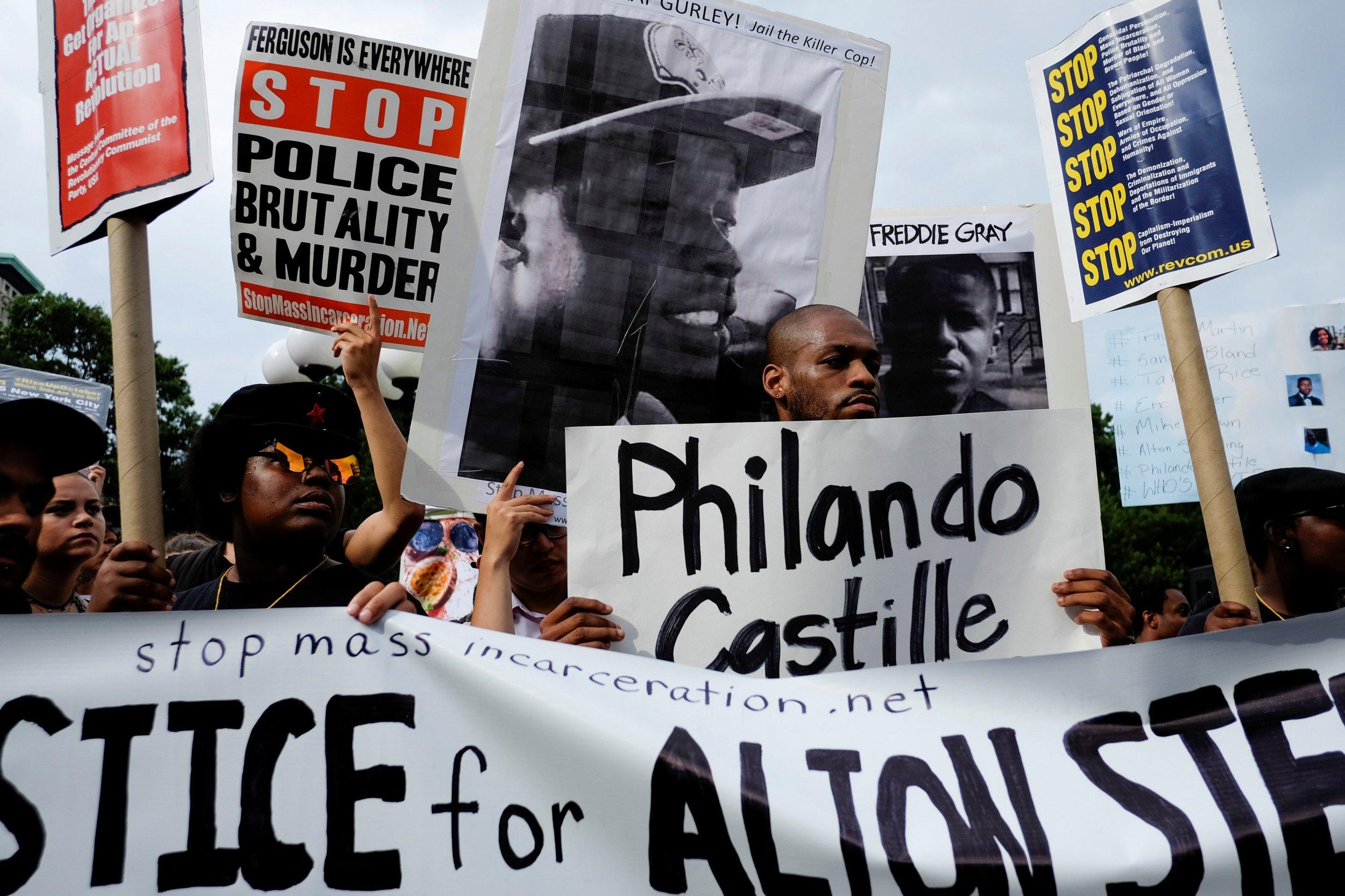 7-8-16 Philando Castile protest