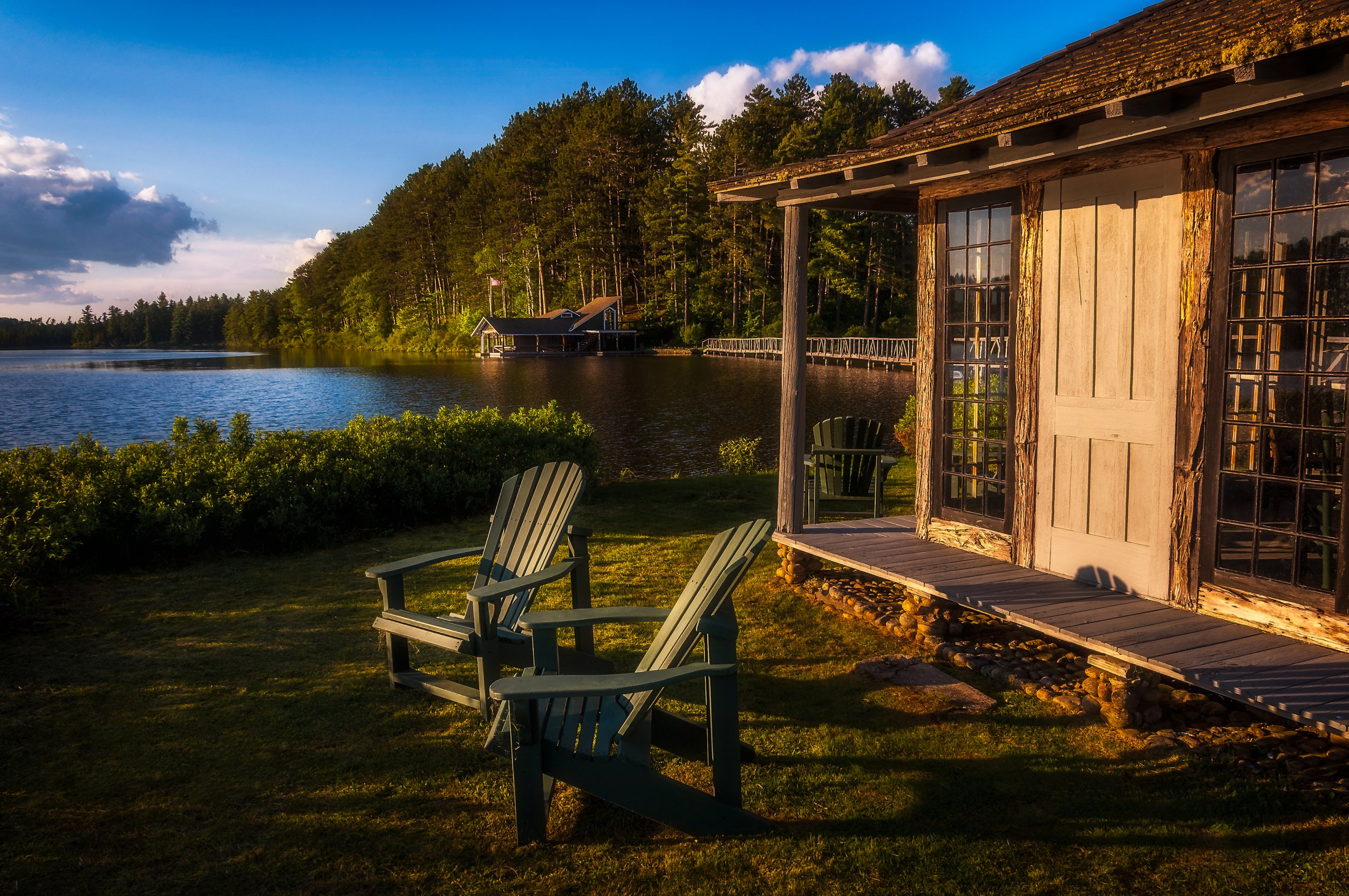 the point of must return unplugging in the adirondacks