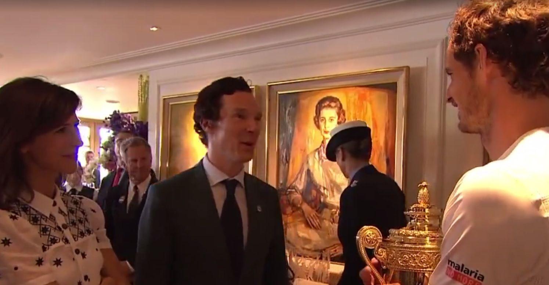 When Andy Murray met Benedict Cumberbatch