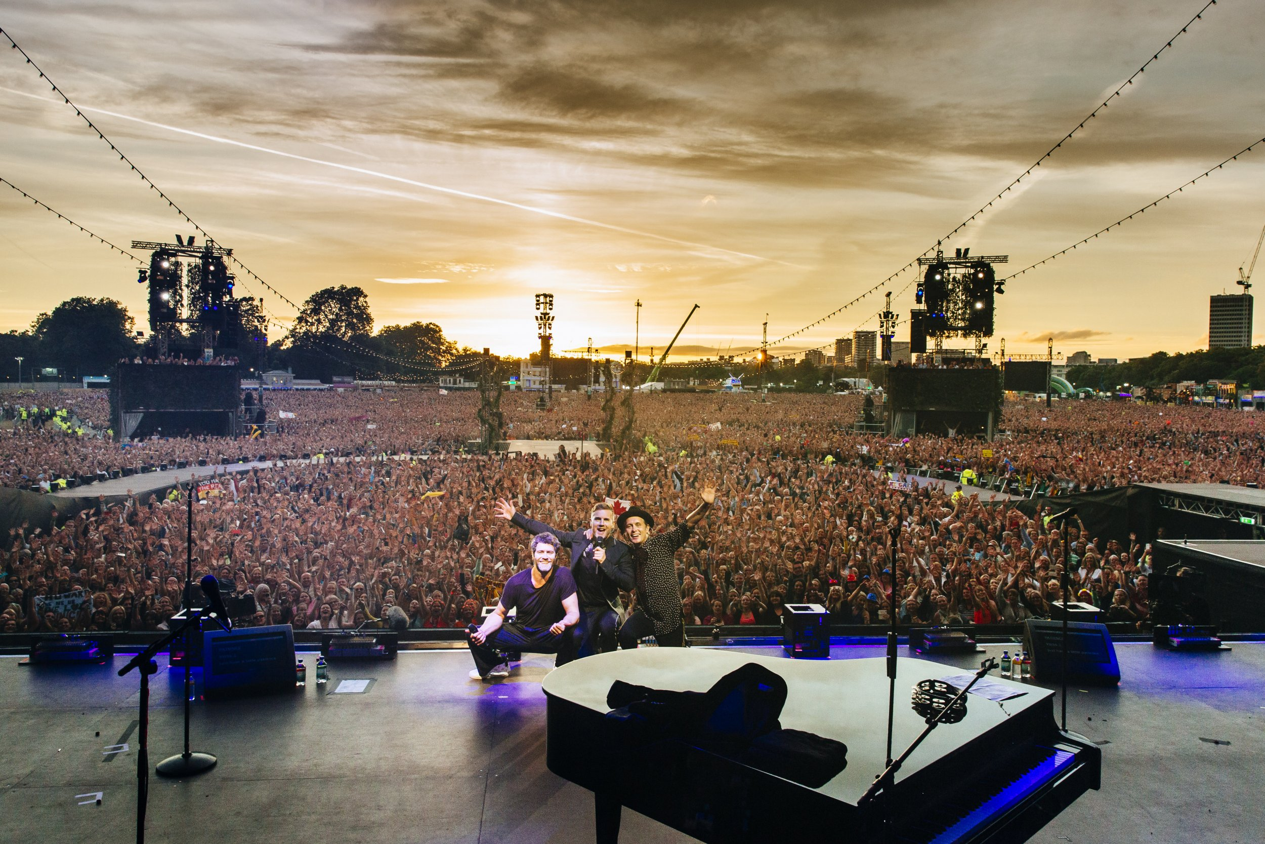 Take That at BST Hyde Park