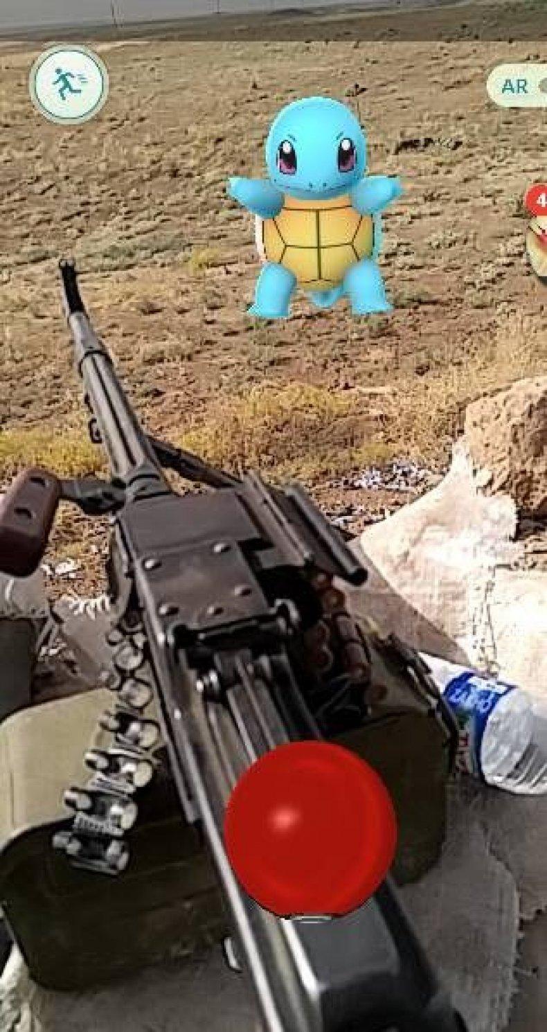 Pokemon Go Iraqi Mosul