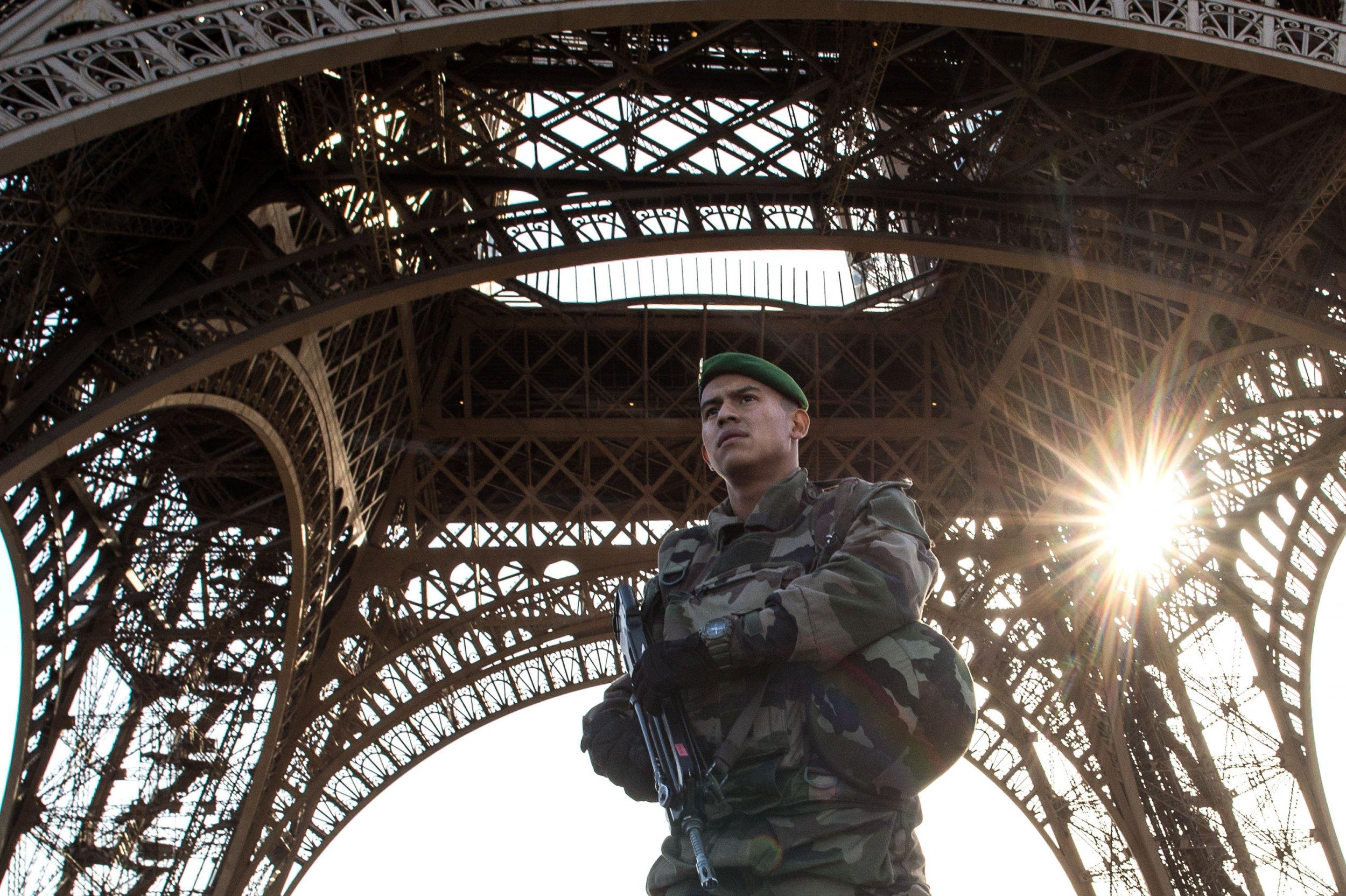 Paris Attacks France Eiffel