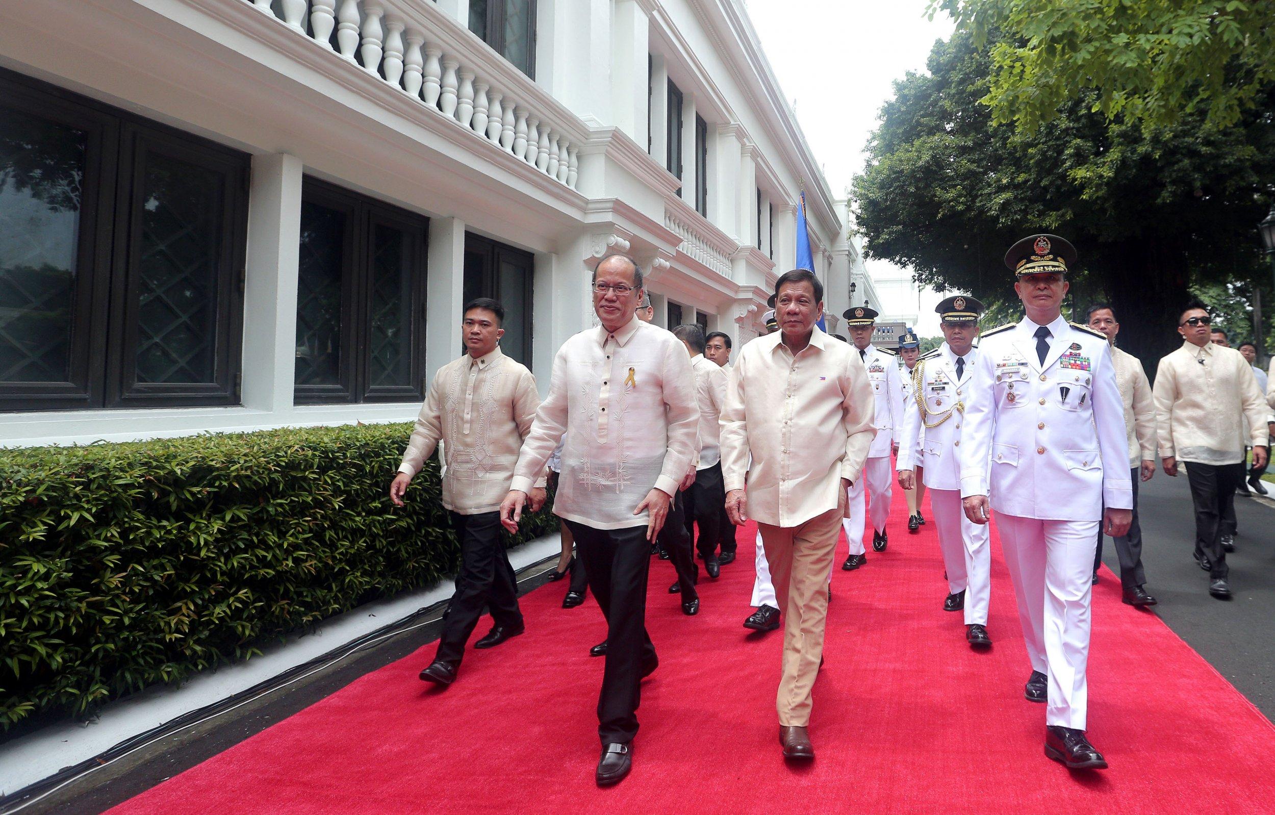 Rodrigo Duterte Sworn-in