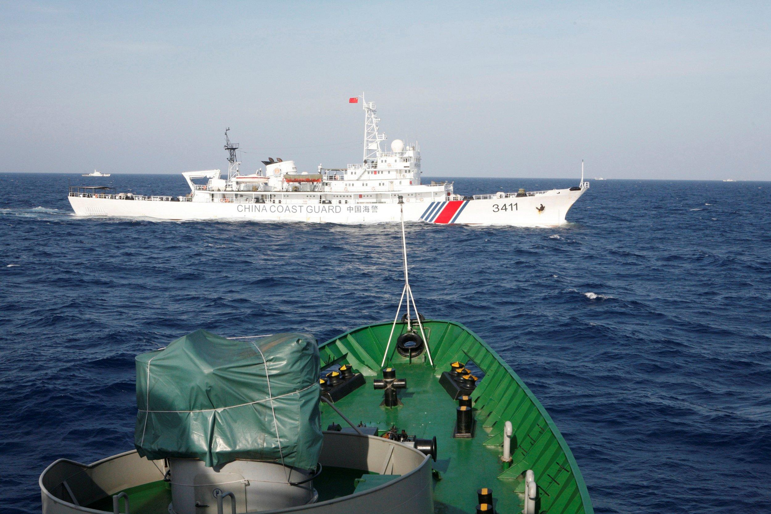 South China Sea boats