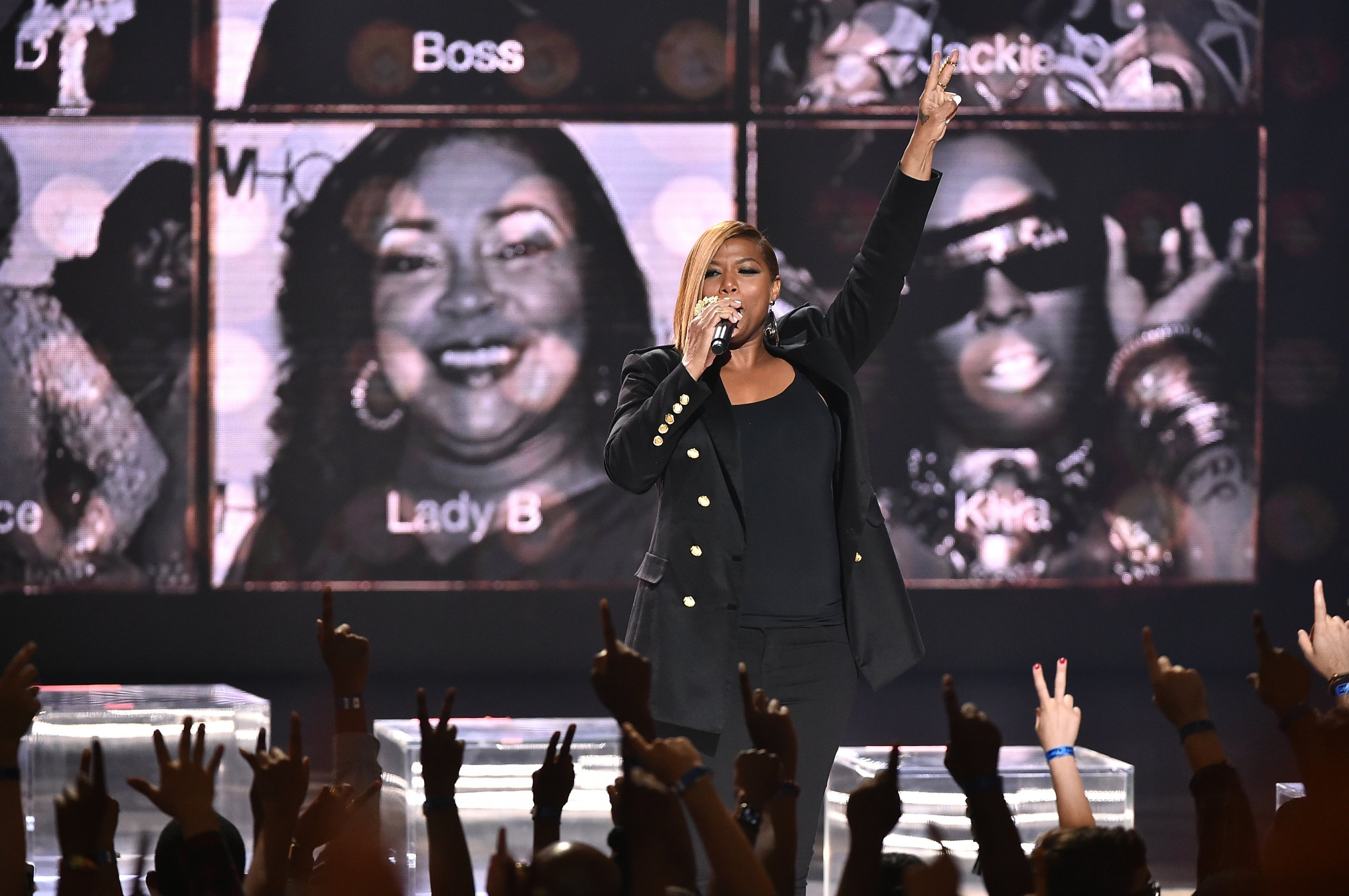 Queen Latifah at Hip Hop Honors