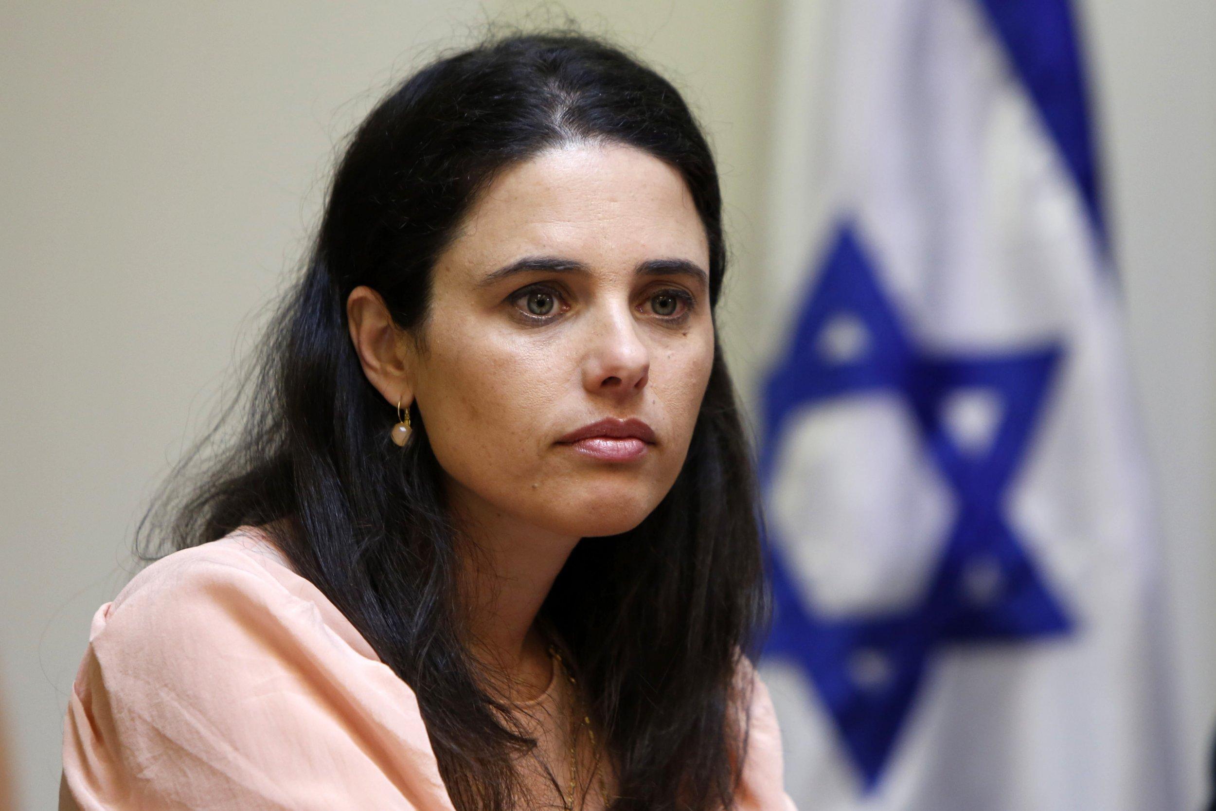 Ayelet Shaked Israeli NGO