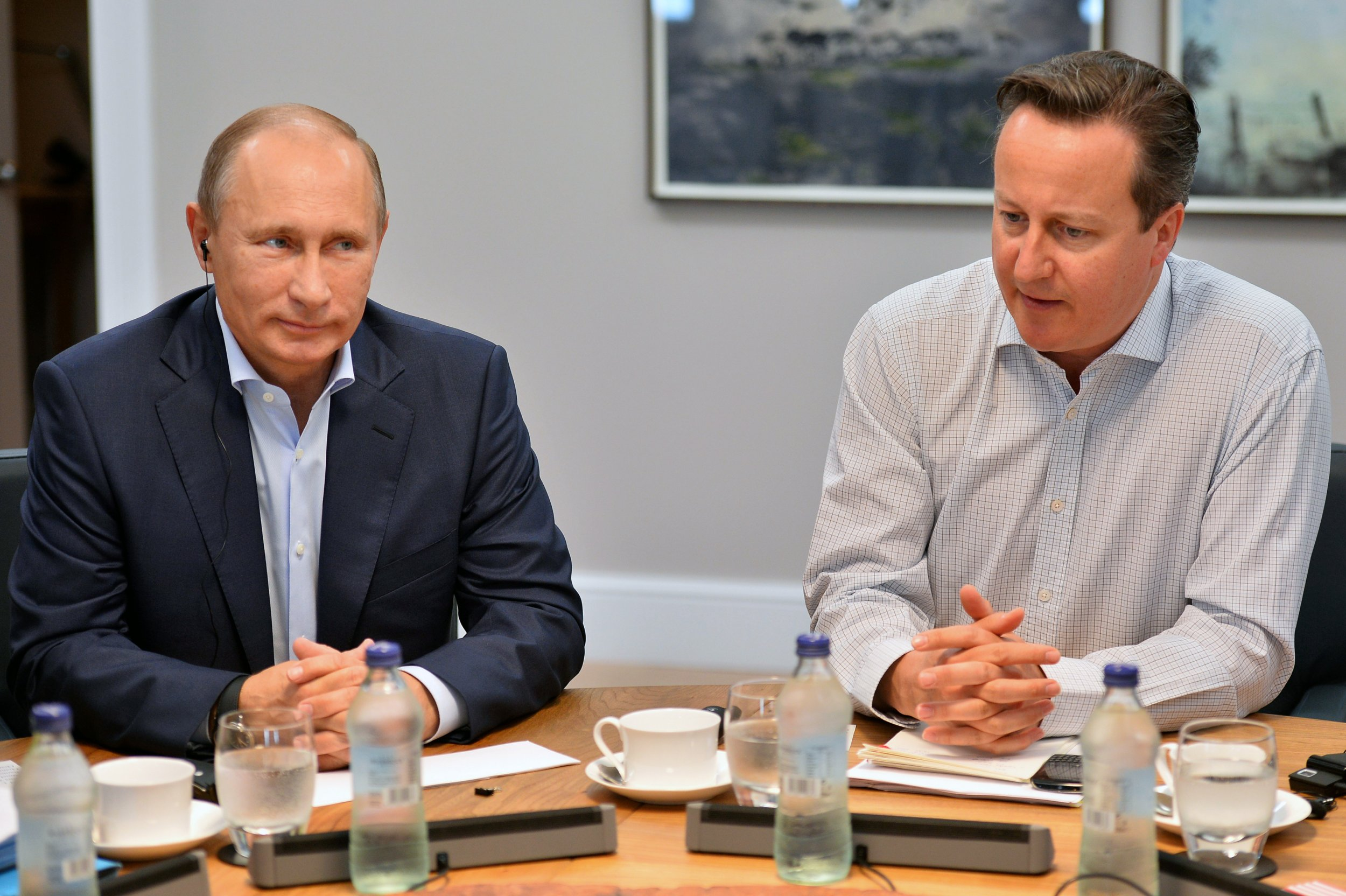 Putin and Cameron